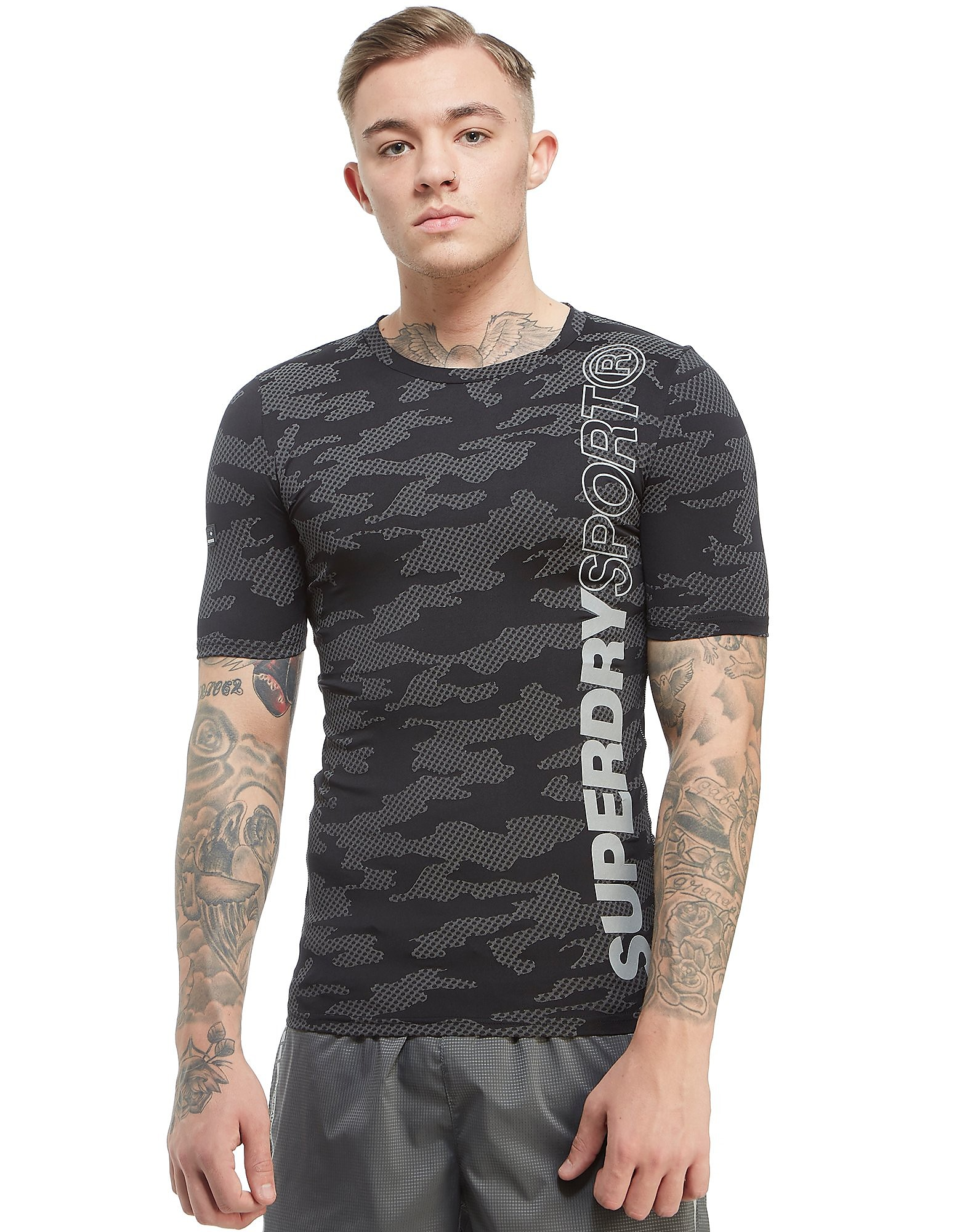 Superdry Sport Side Core Reflective T-Shirt