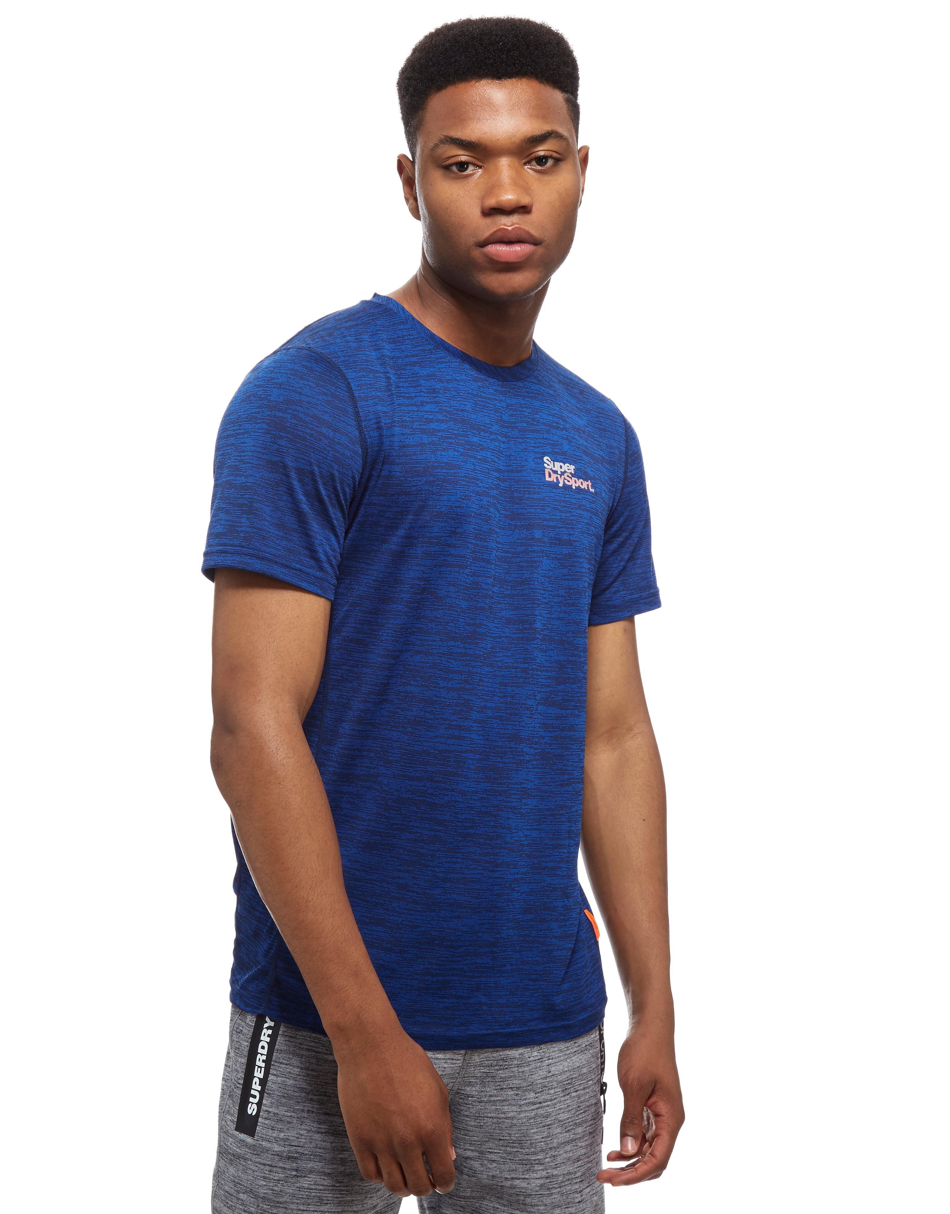 Superdry T-Shirt Core Train Space Dye Homme