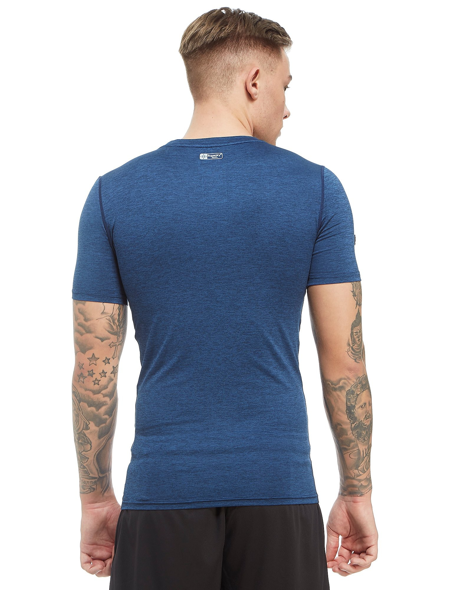 Superdry Sport camiseta Side Logo Core