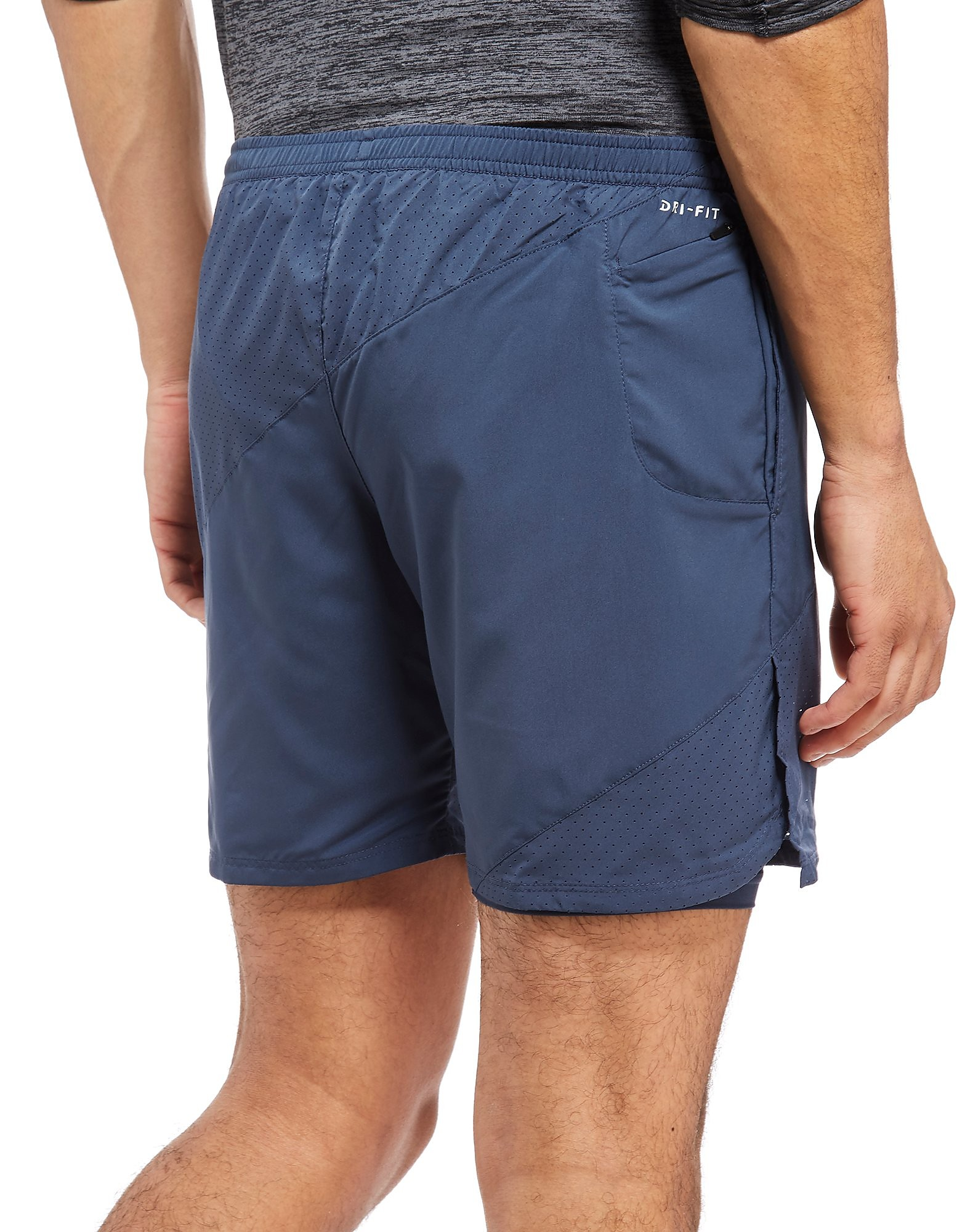 "Nike 7"" Distance 2-In-1 Shorts"