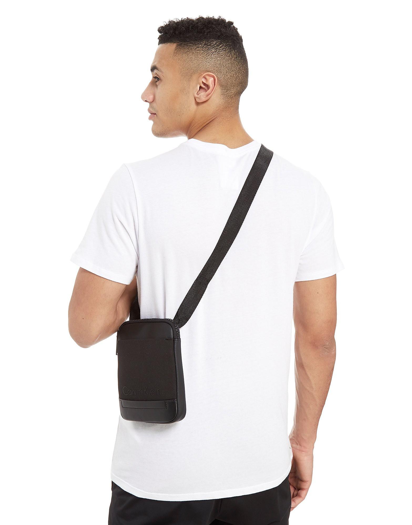 Calvin Klein Caillou Mini Flat Crossover Bag
