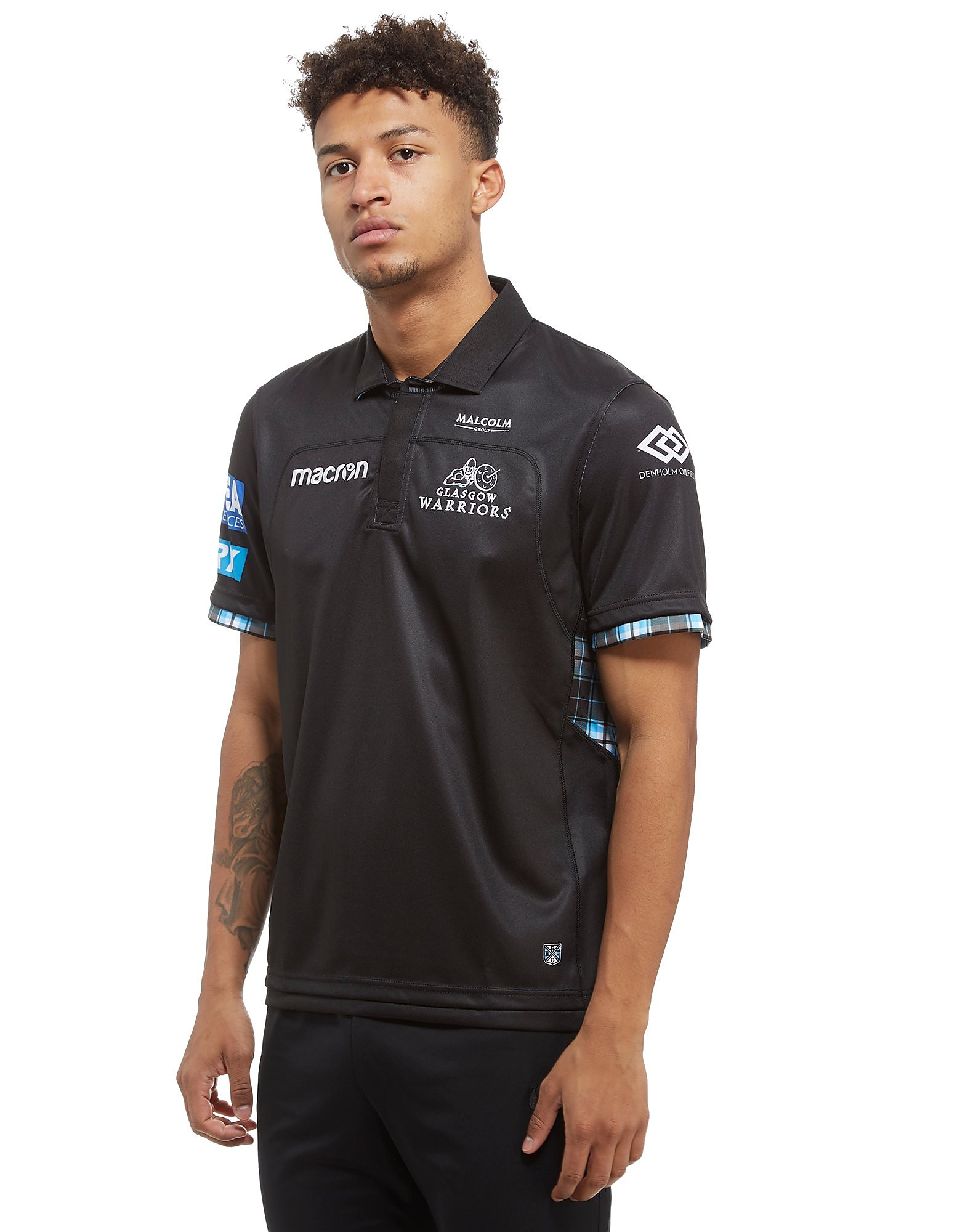Macron Glasgow Warriors 2017/18 Shirt Homme