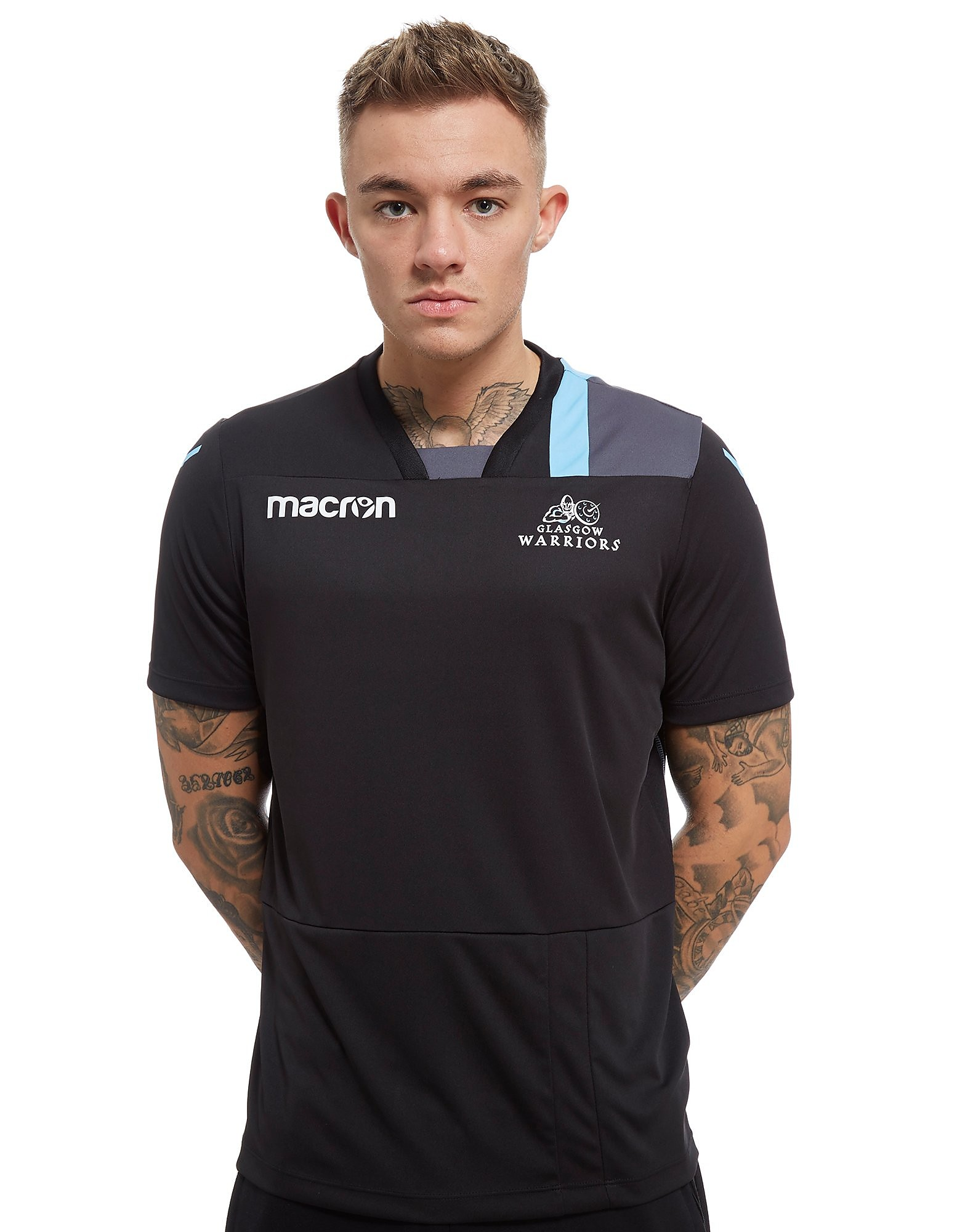 Macron Glasgow Warriors Training T-Shirt