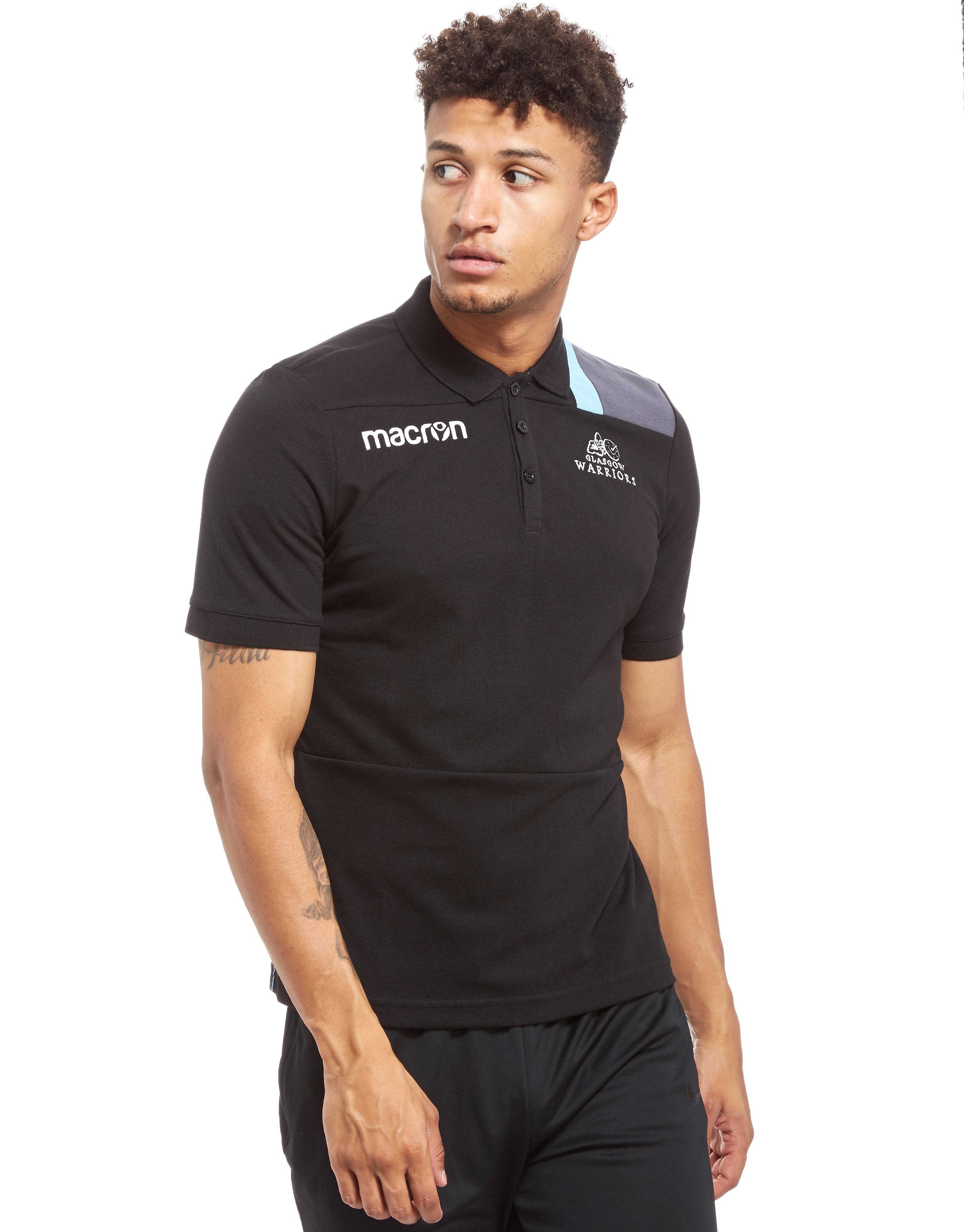 Macron Glasgow Warriors Polo Shirt