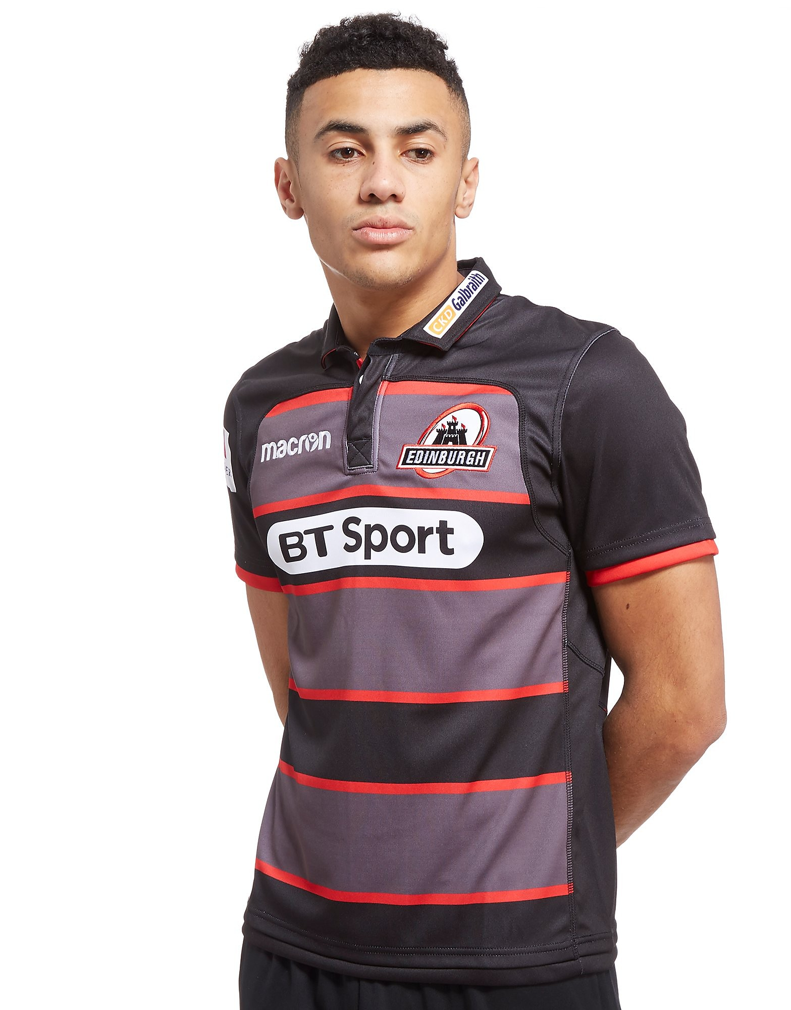 Macron Edinburgh Rugby 2017/18 Home Shirt