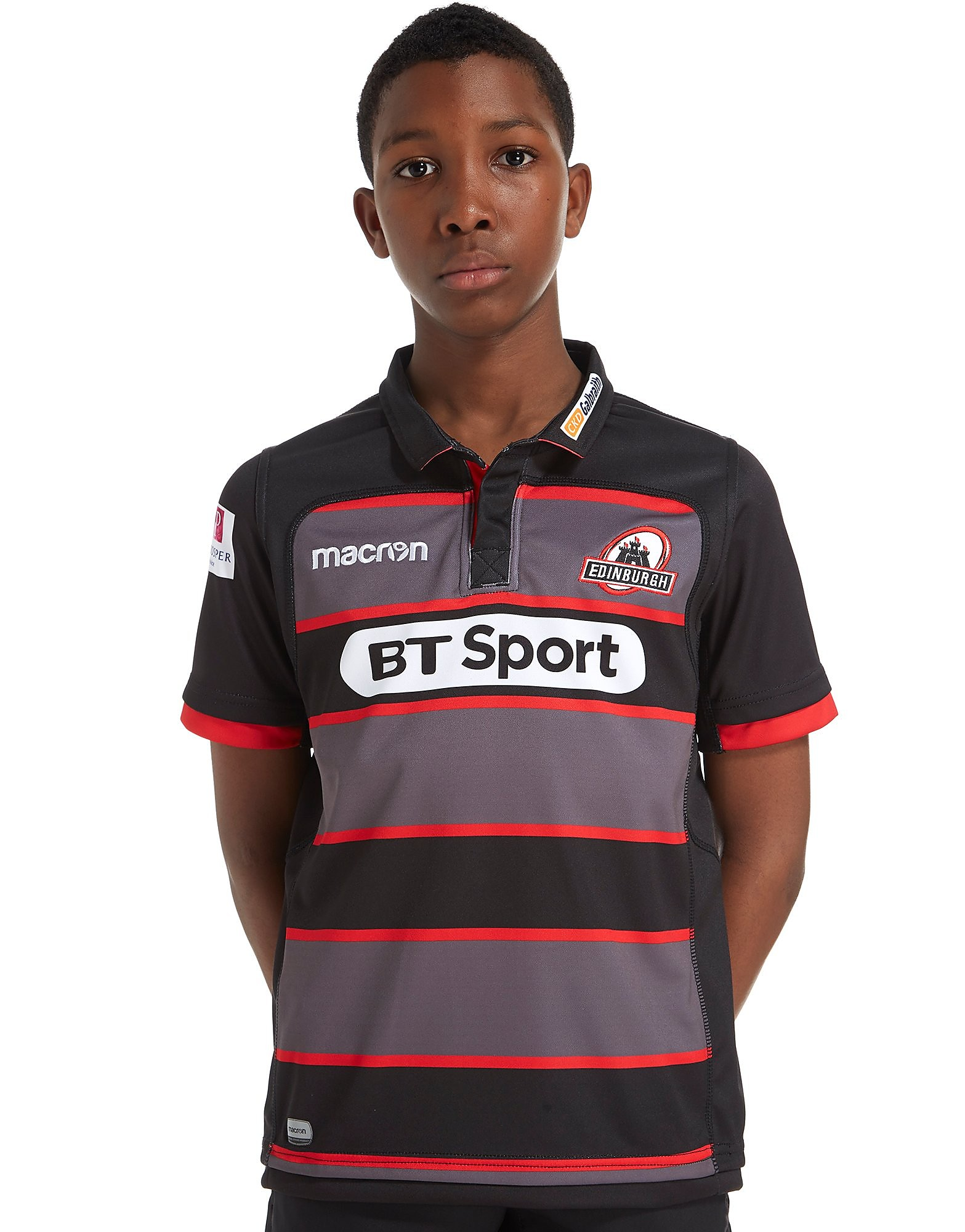 Macron Edinburgh Rugby 2017/18 Home Shirt Junior