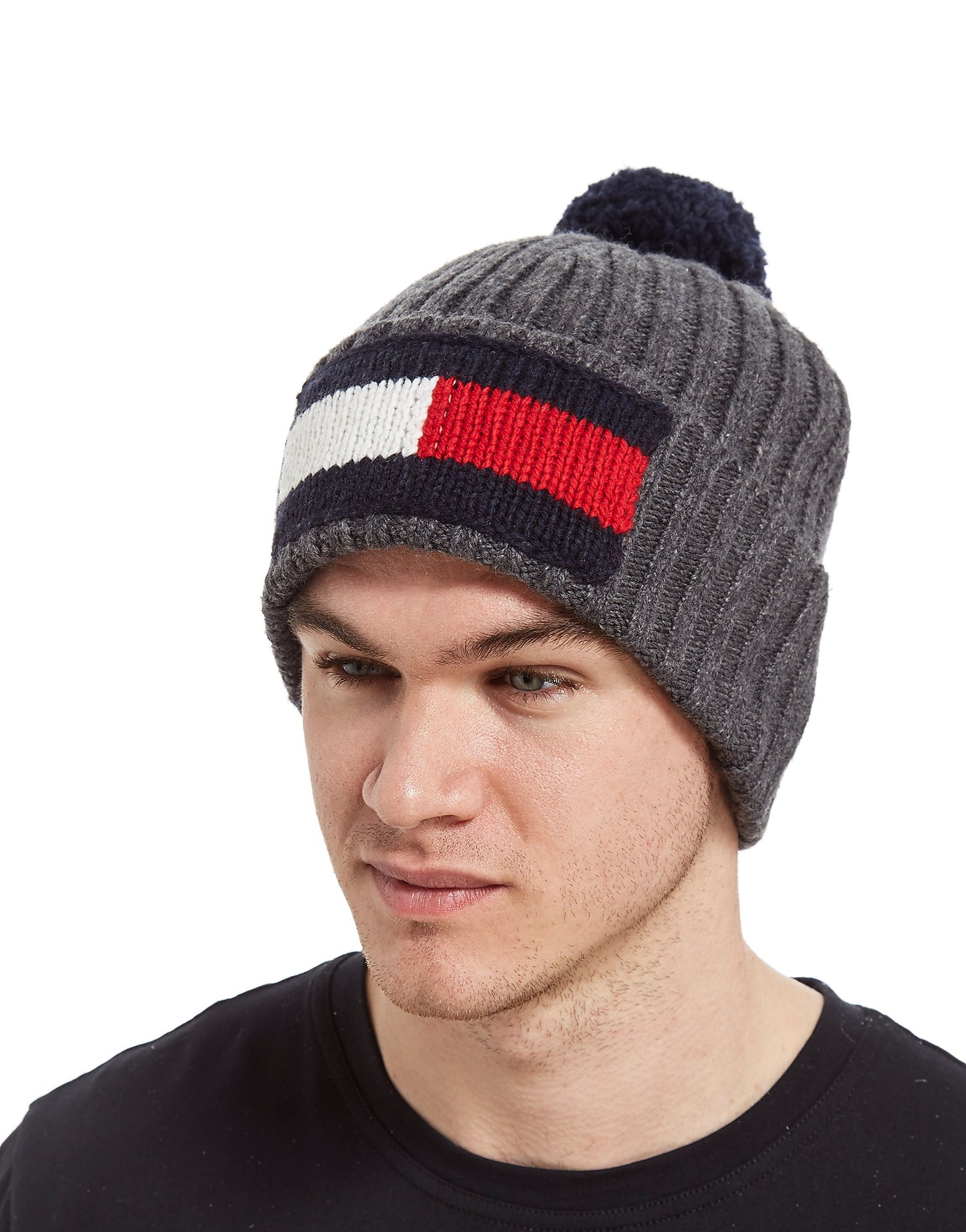 Tommy Hilfiger Flag Bobble Hat