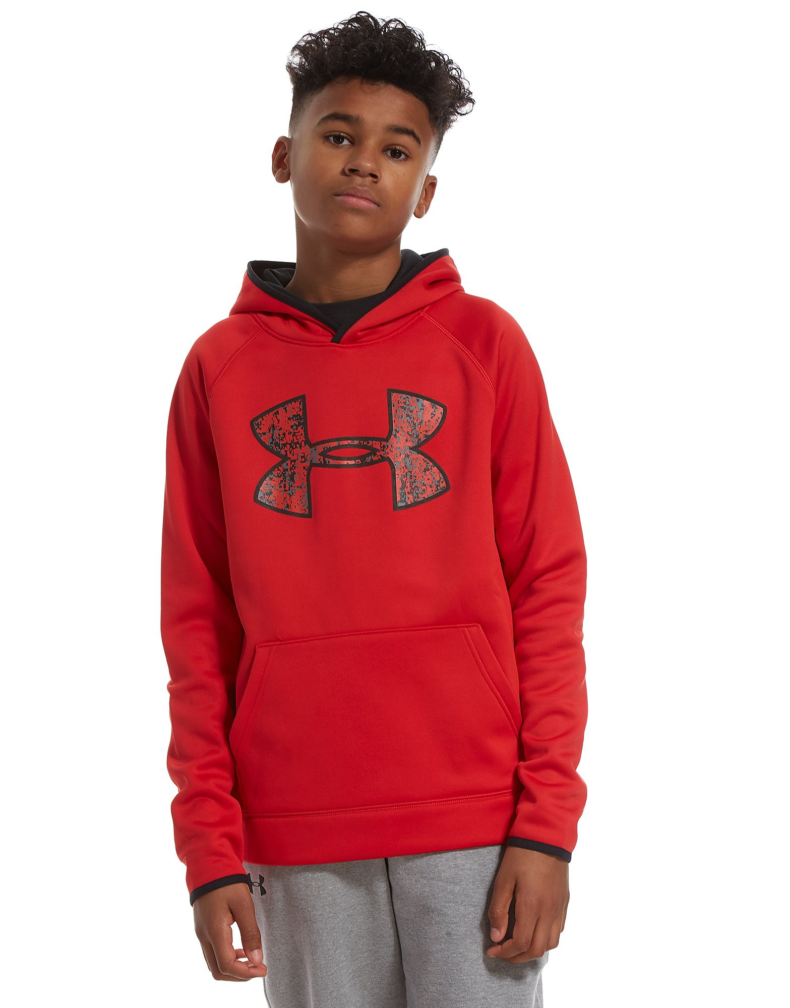 Under Armour Fleece Big Logo Hoodie Junior