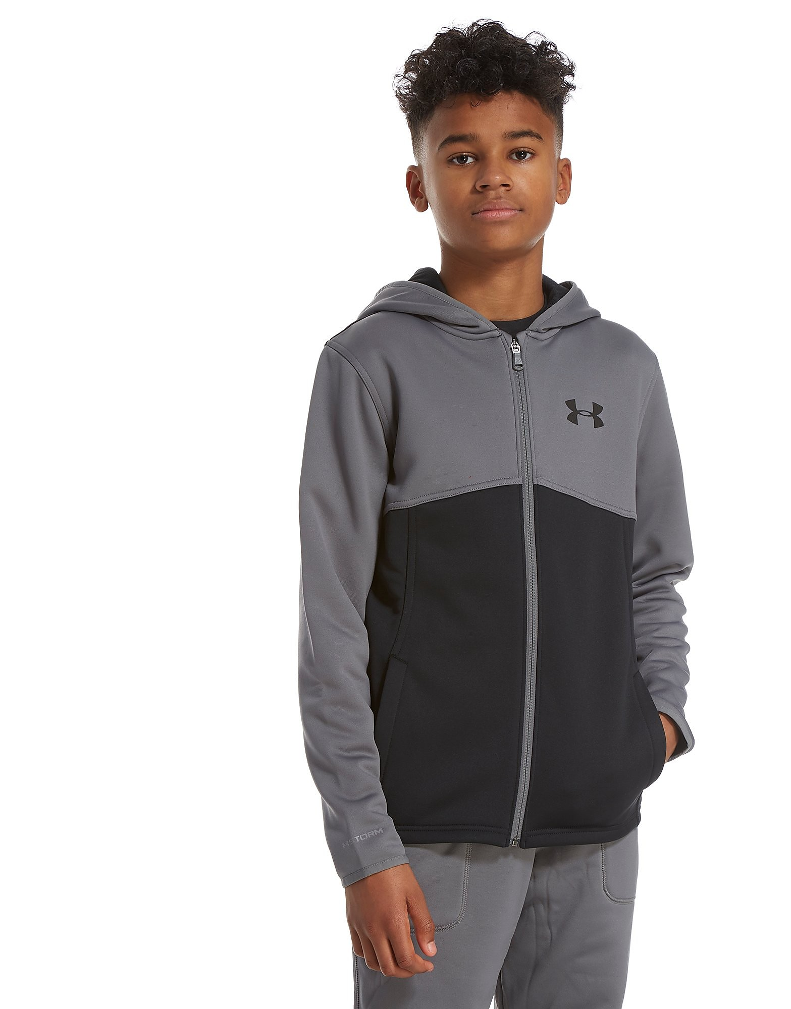 Under Armour Fleece Full Zip Poly Hoodie Junior