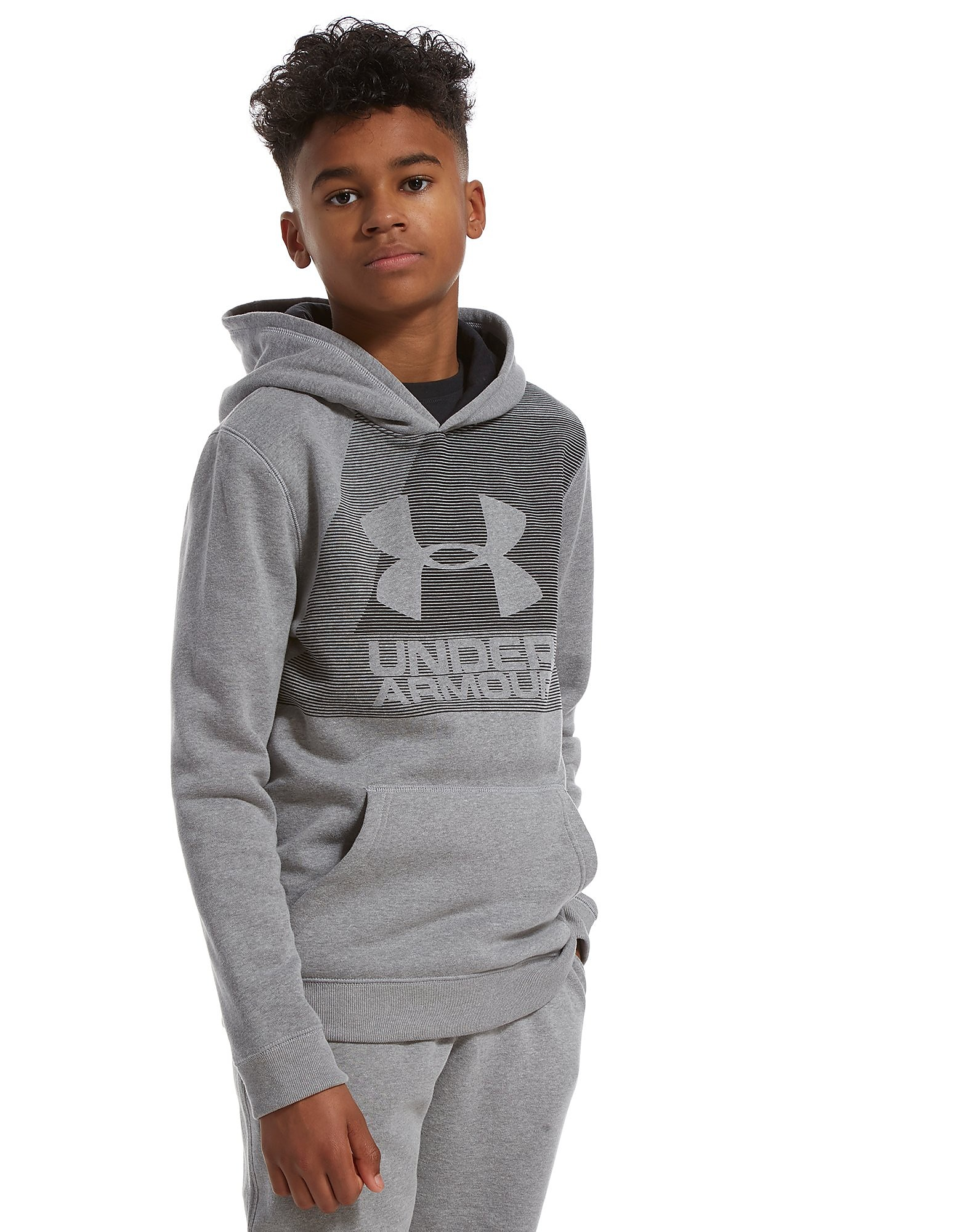 Under Armour Brushed Graphic Hoodie Junior