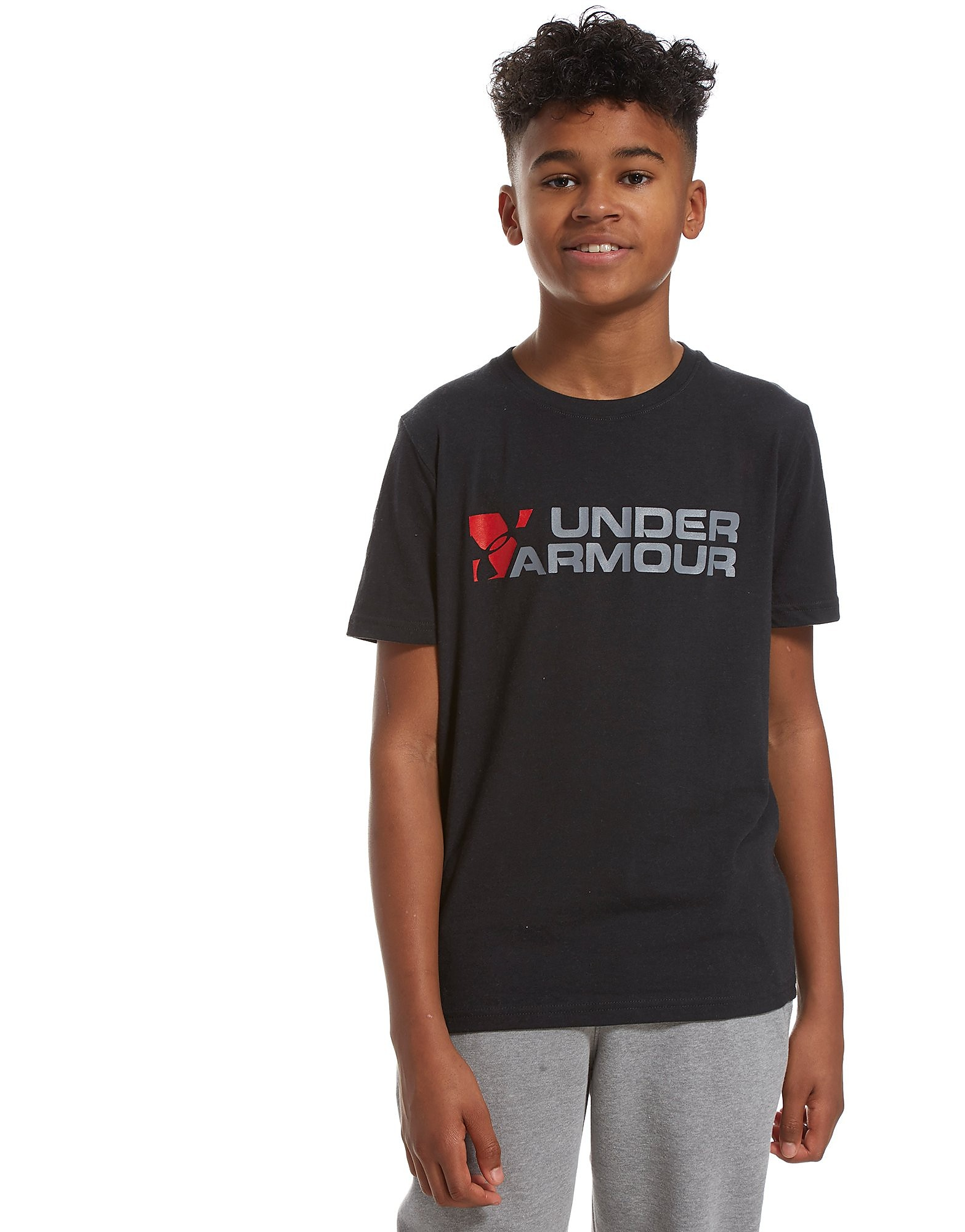Under Armour Duo Brand T-Shirt Junior