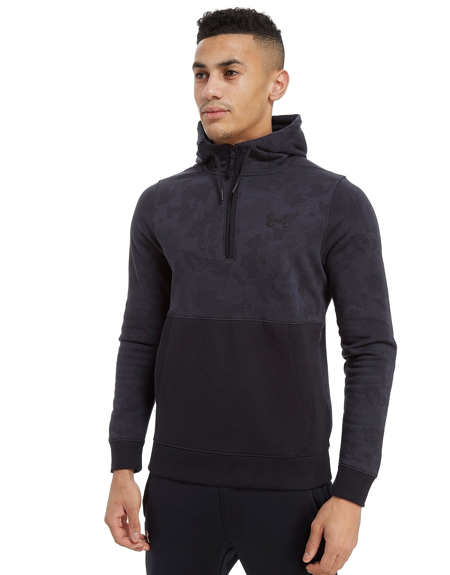 Under Armour Threadborne Camo 1/4 Zip Felpa con Cappuccio