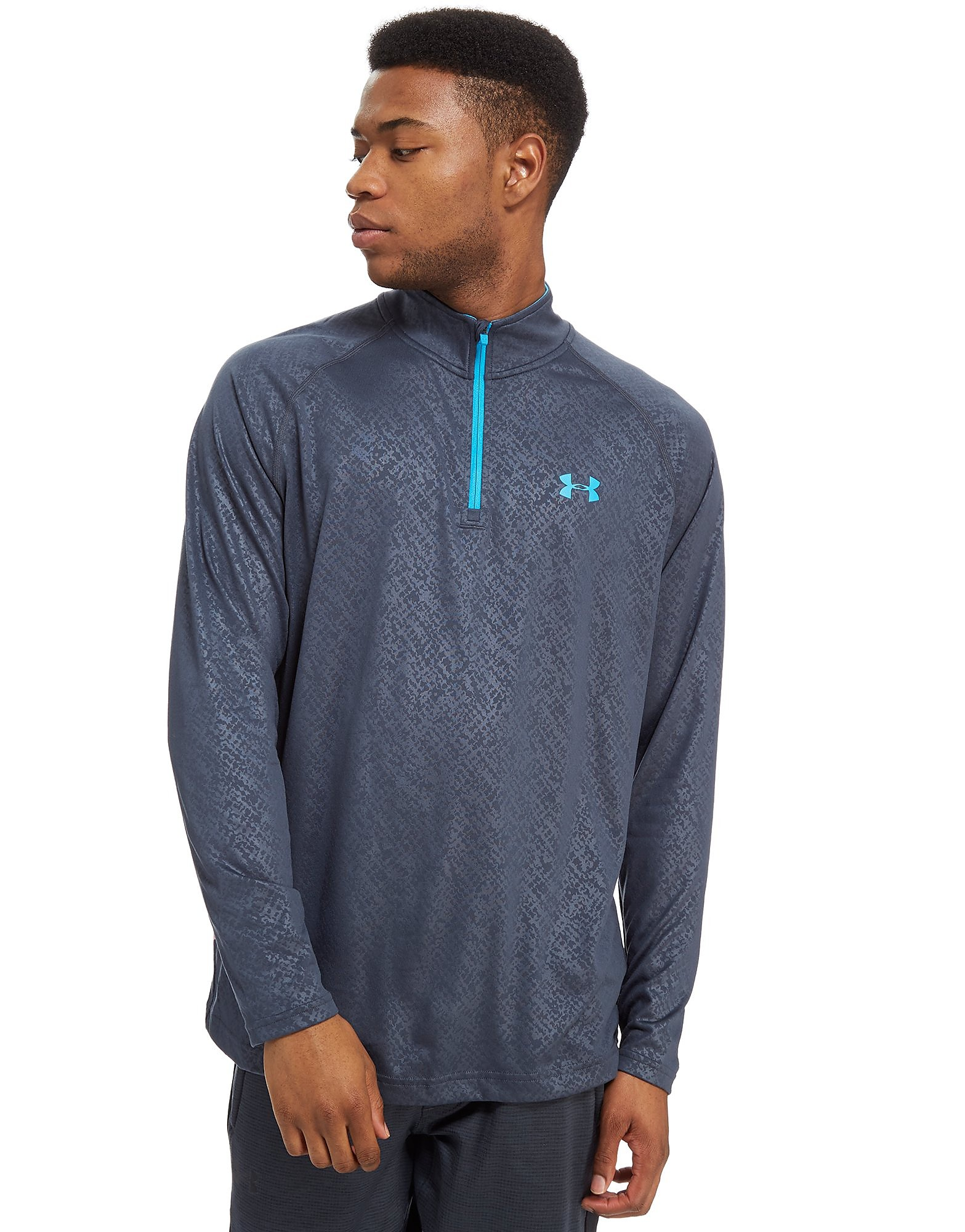 Under Armour Tech Geprägtes 1/4 RV Top