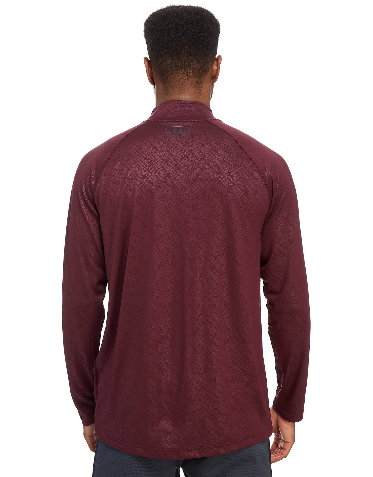 Under Armour Tech Embossed 1/4 Zip Top