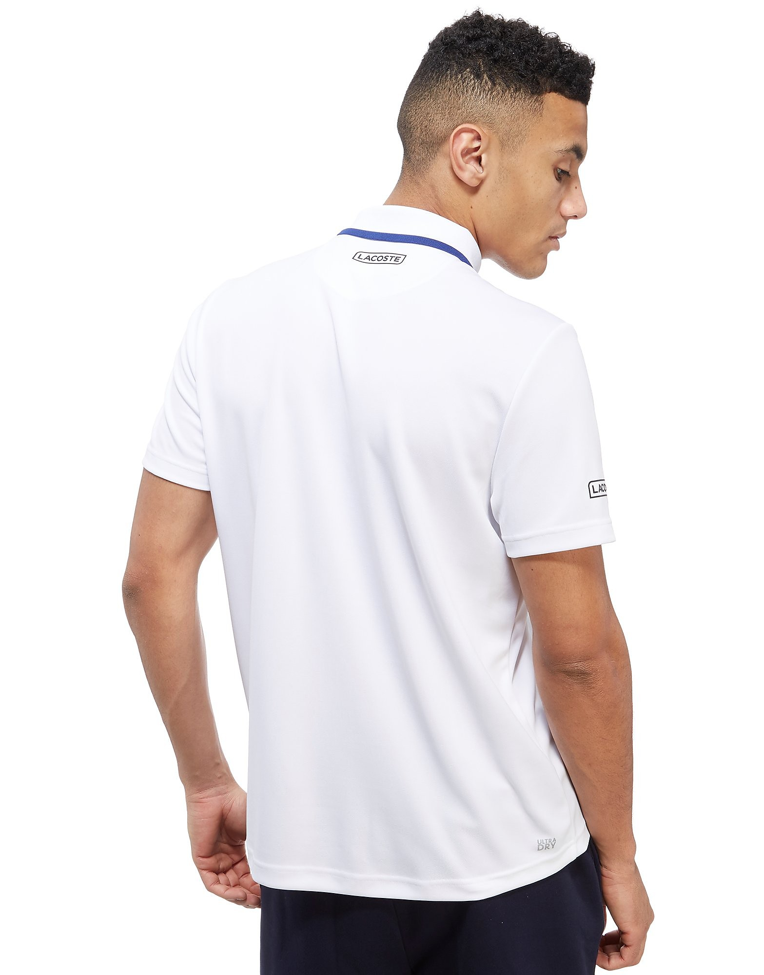 Lacoste Novak Stripe Chest Polo