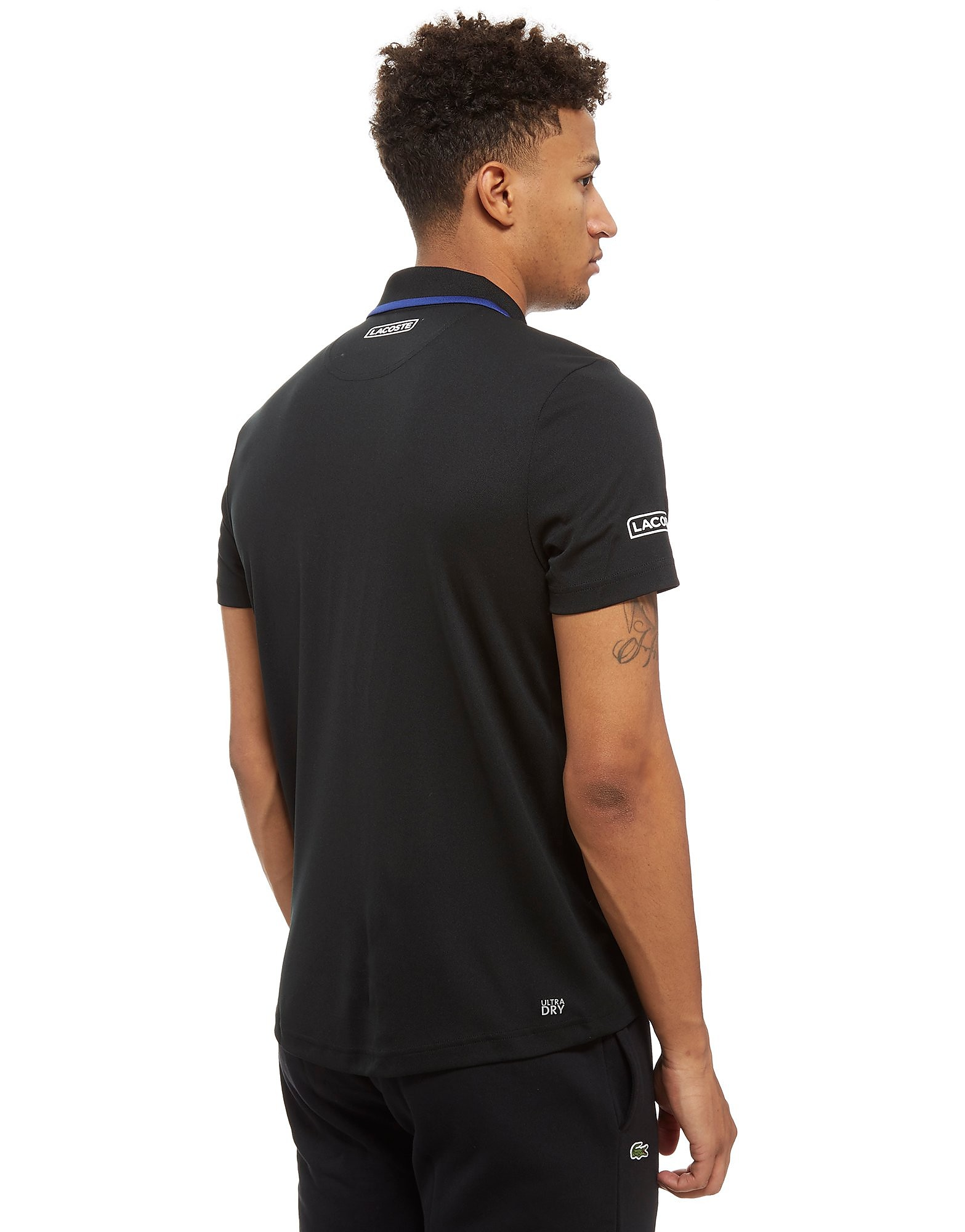 Lacoste Novak Stripe Chest Polo Heren