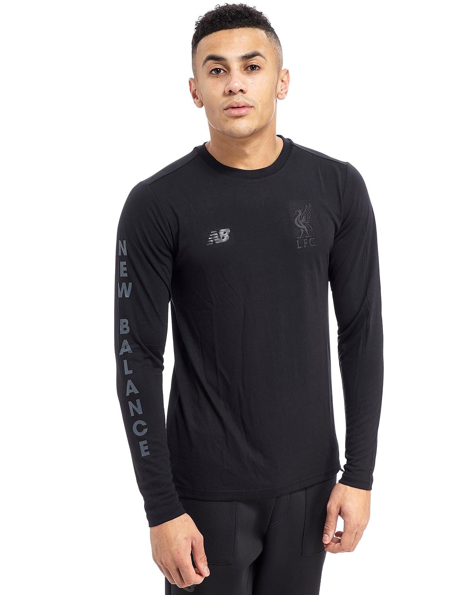 New Balance 247 Liverpool FC Long Sleeve T-Shirt - Black, Black