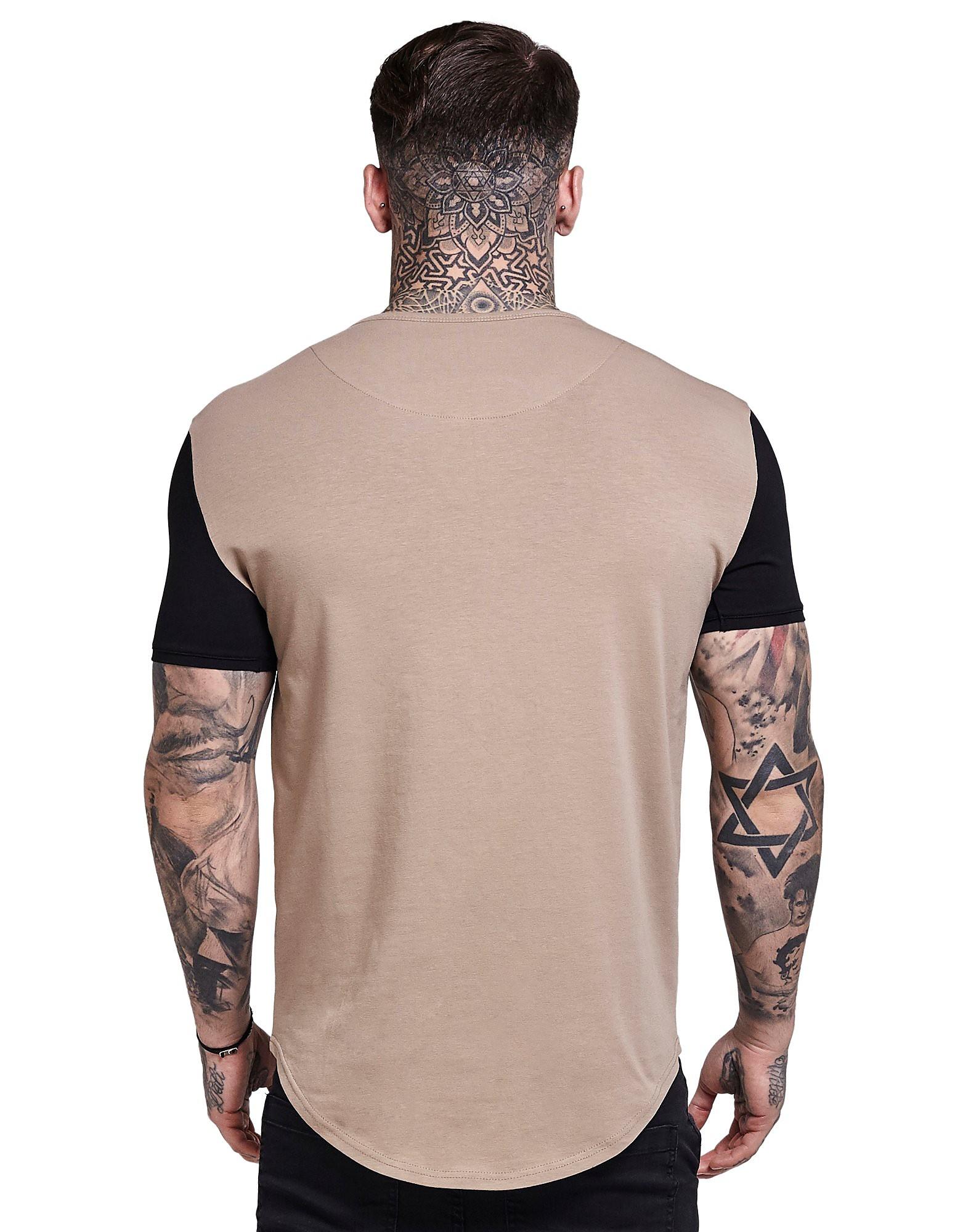 SikSilk T-shirt Contrast