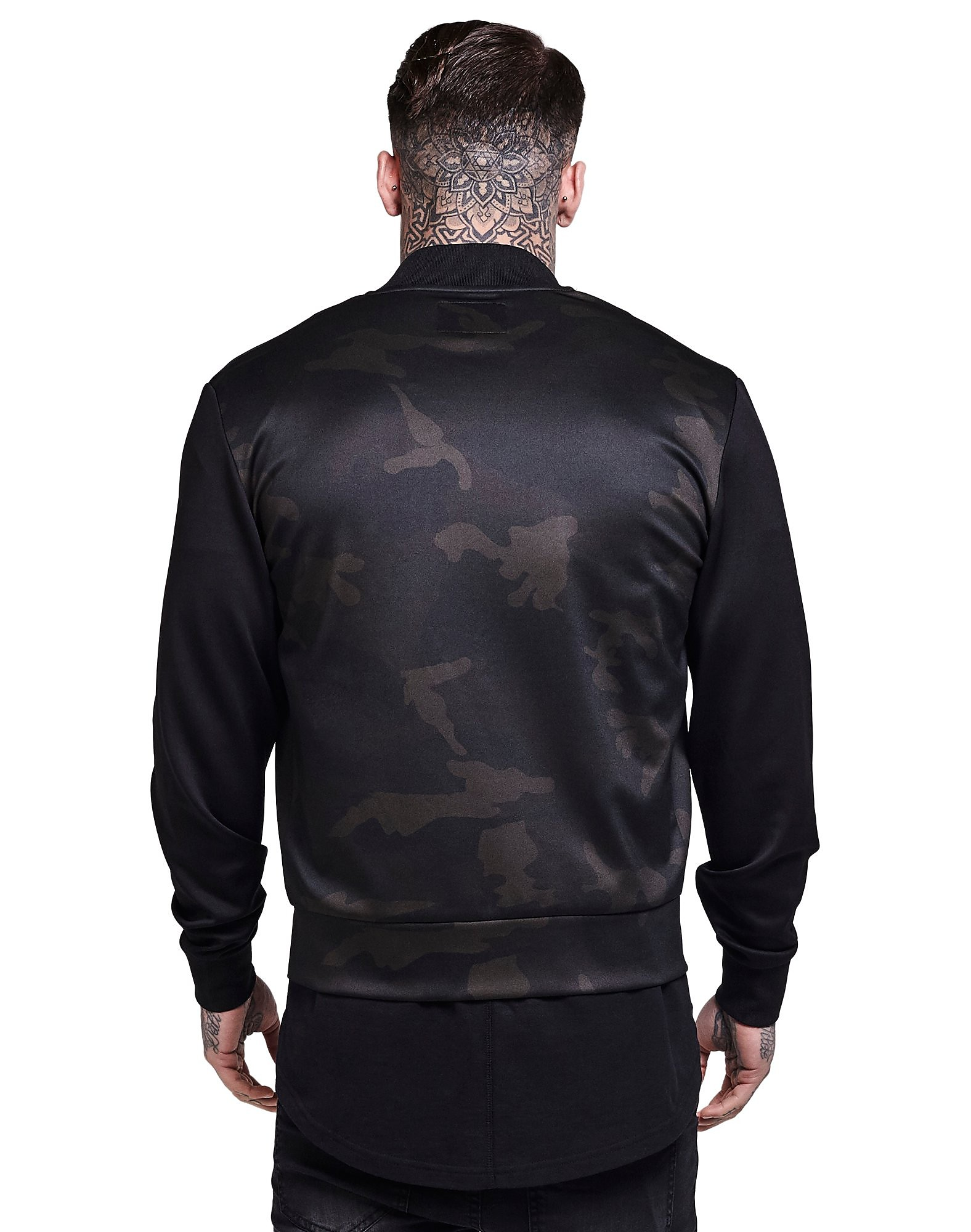 SikSilk Tricot Bomber Jacket