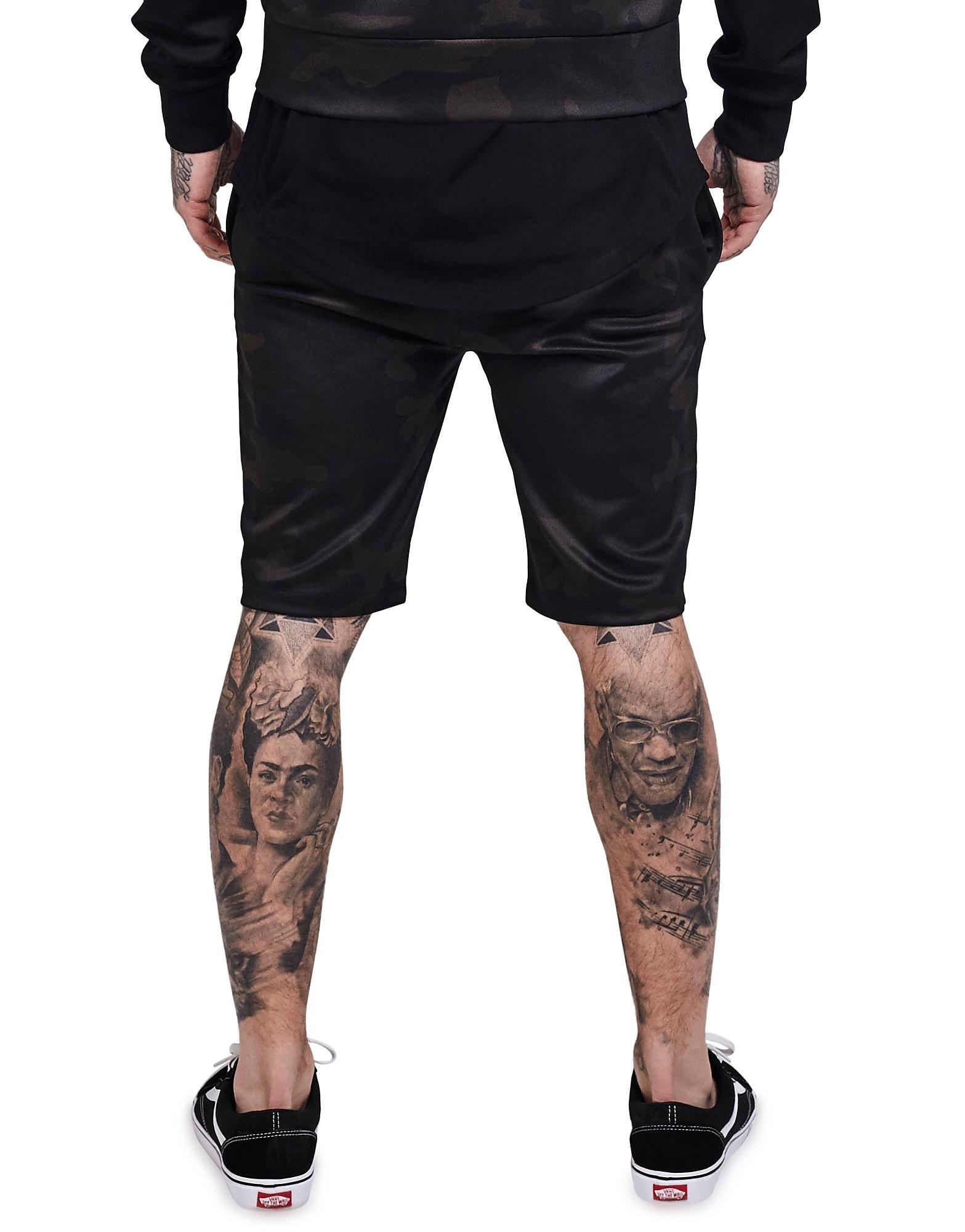 SikSilk Poly Tricot Gym Shorts