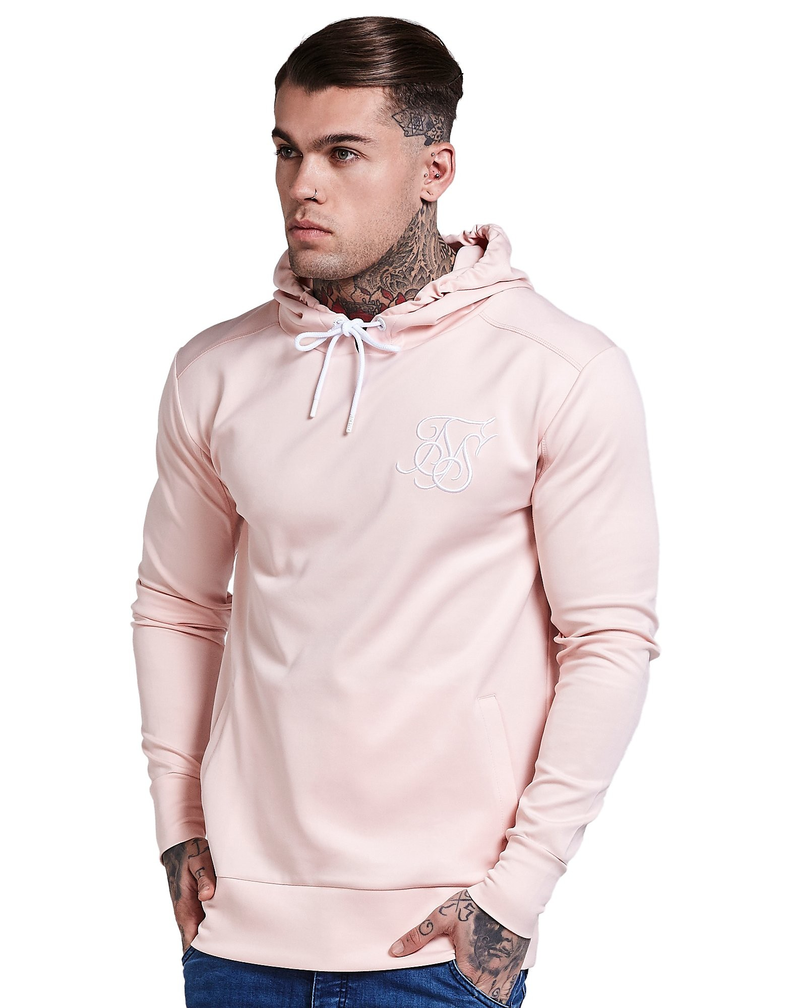 SikSilk Poly Tricot Hoody