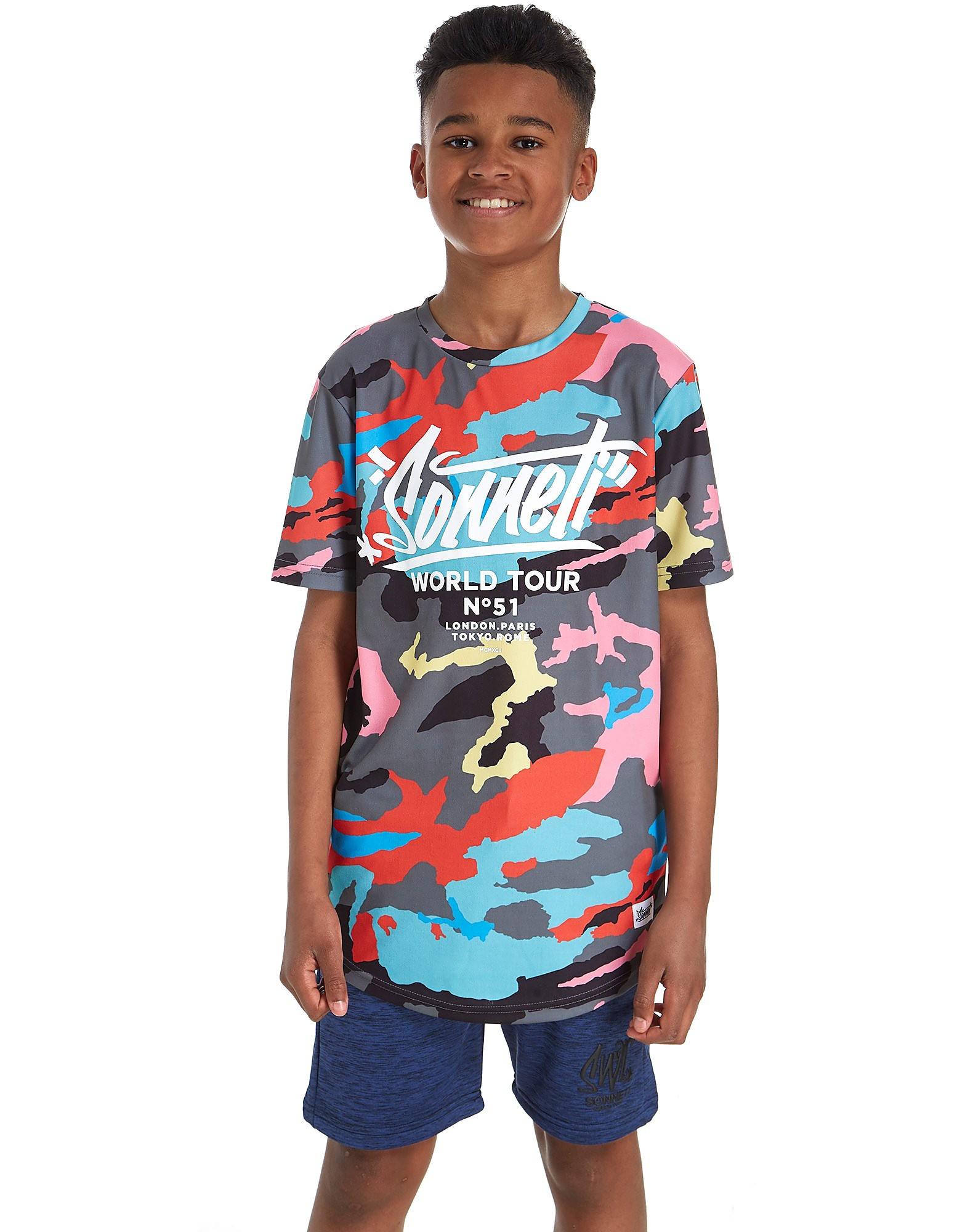 Sonneti Colourflage T-Shirt Junior