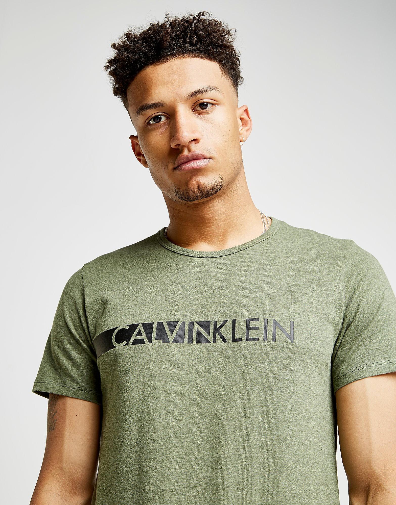 Calvin Klein Short Sleeve Central Logo T-Shirt