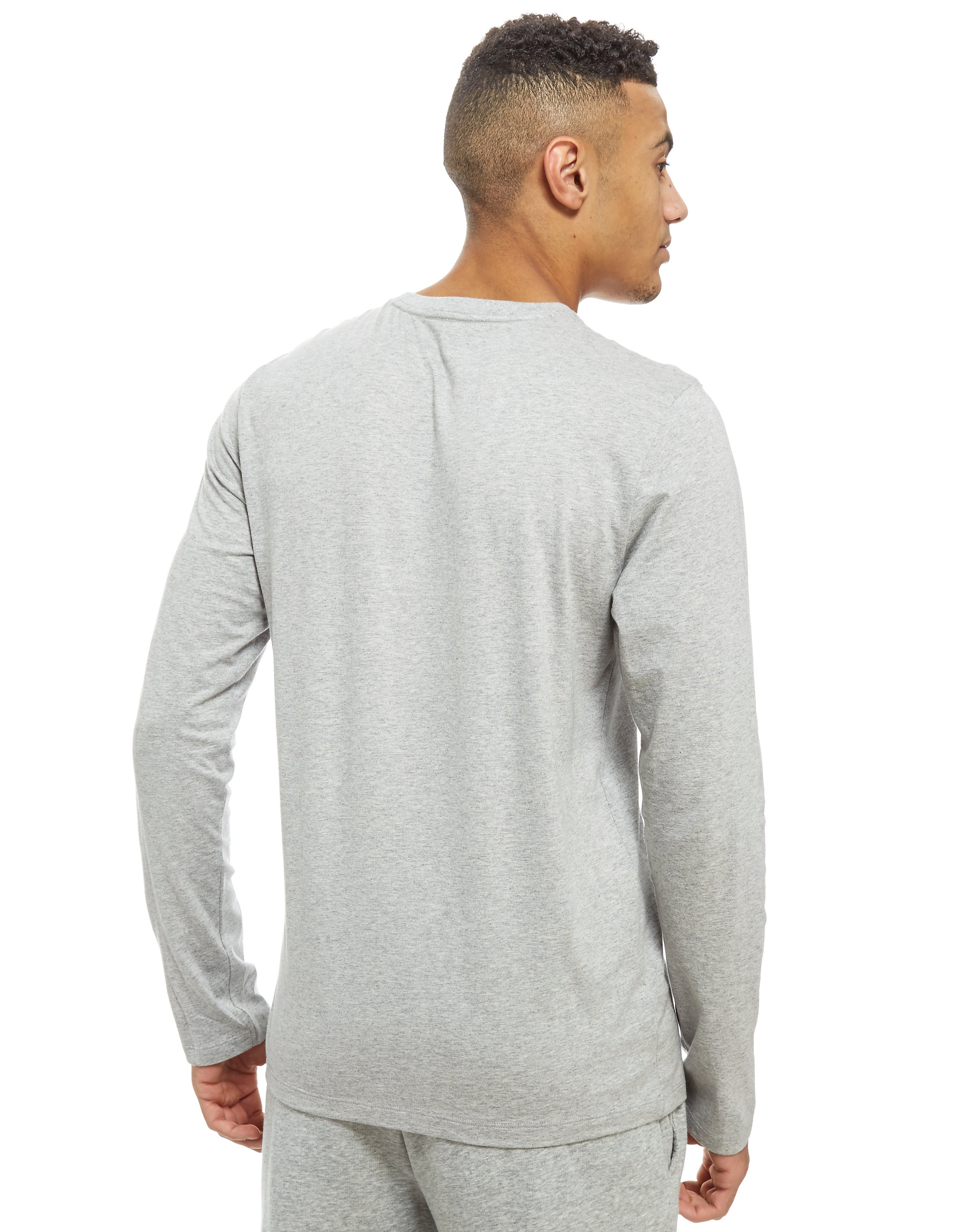 Calvin Klein Long Sleeve Central Logo T-Shirt
