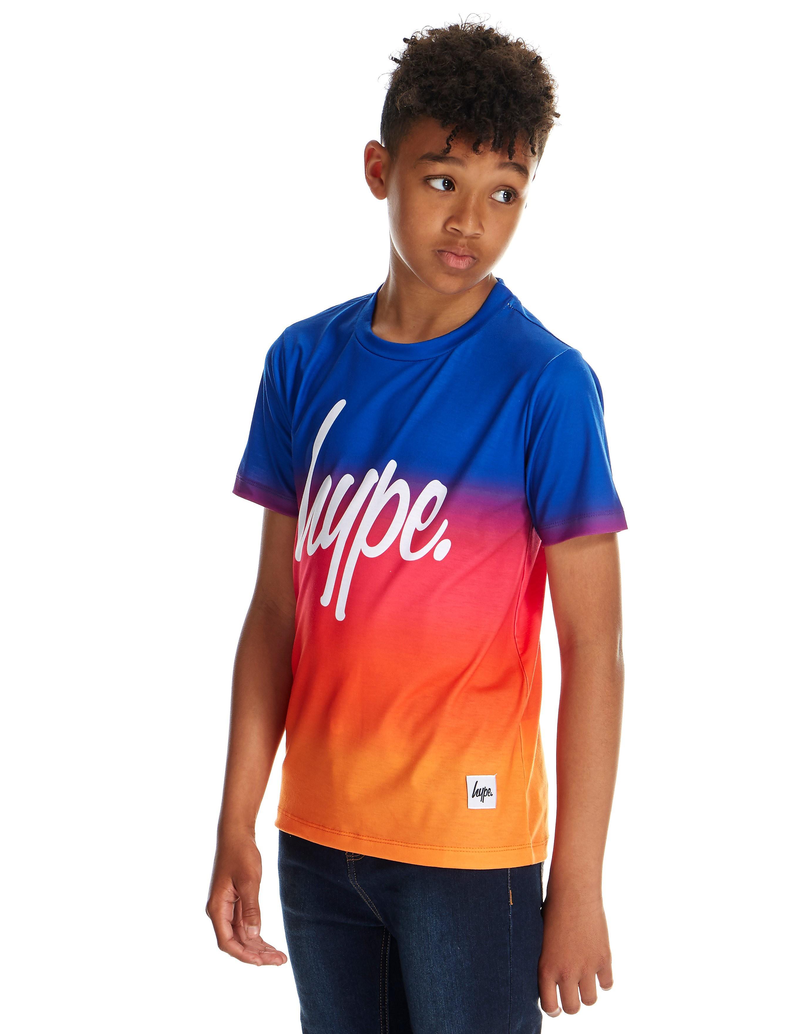 Hype Sunset Gradient T-Shirt für Kinder