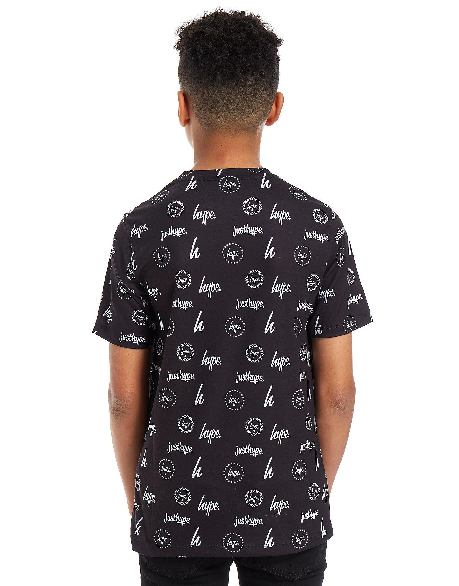 Hype Repeat Logo T-Shirt Junior