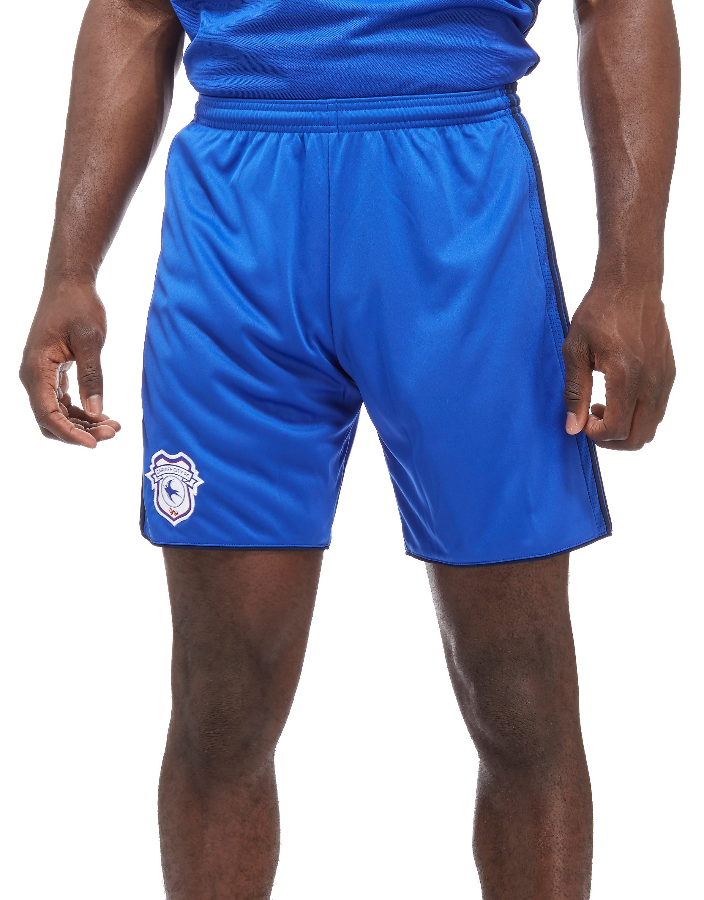 adidas Cardiff City 2017/18 Home Shorts