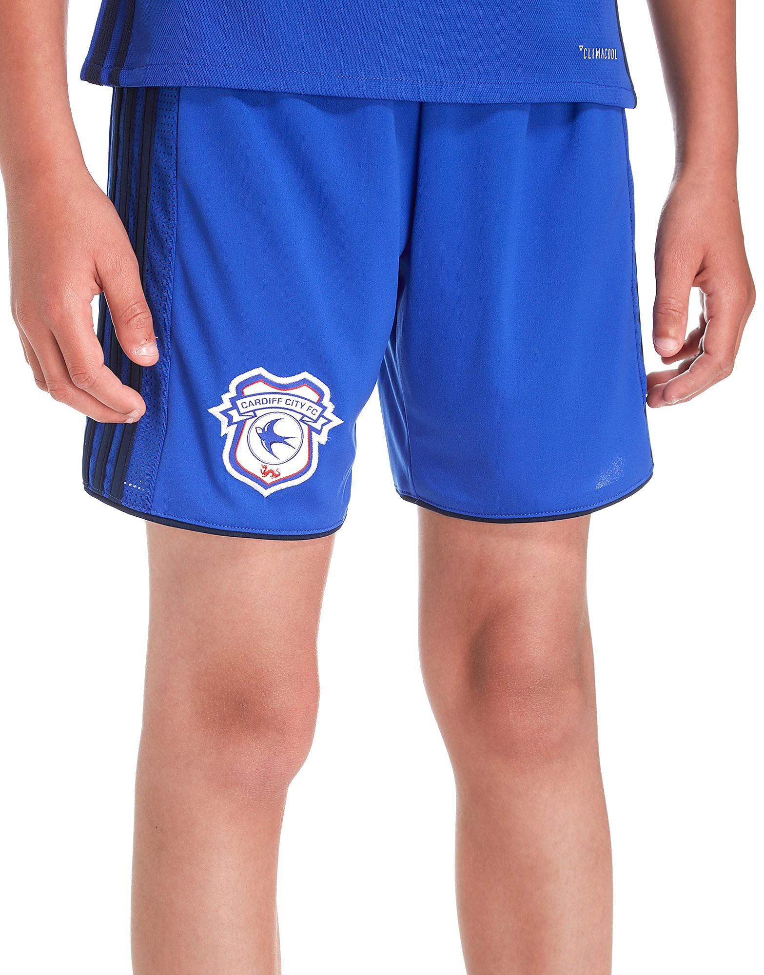 adidas Cardiff City 2017/18 Replica Shorts