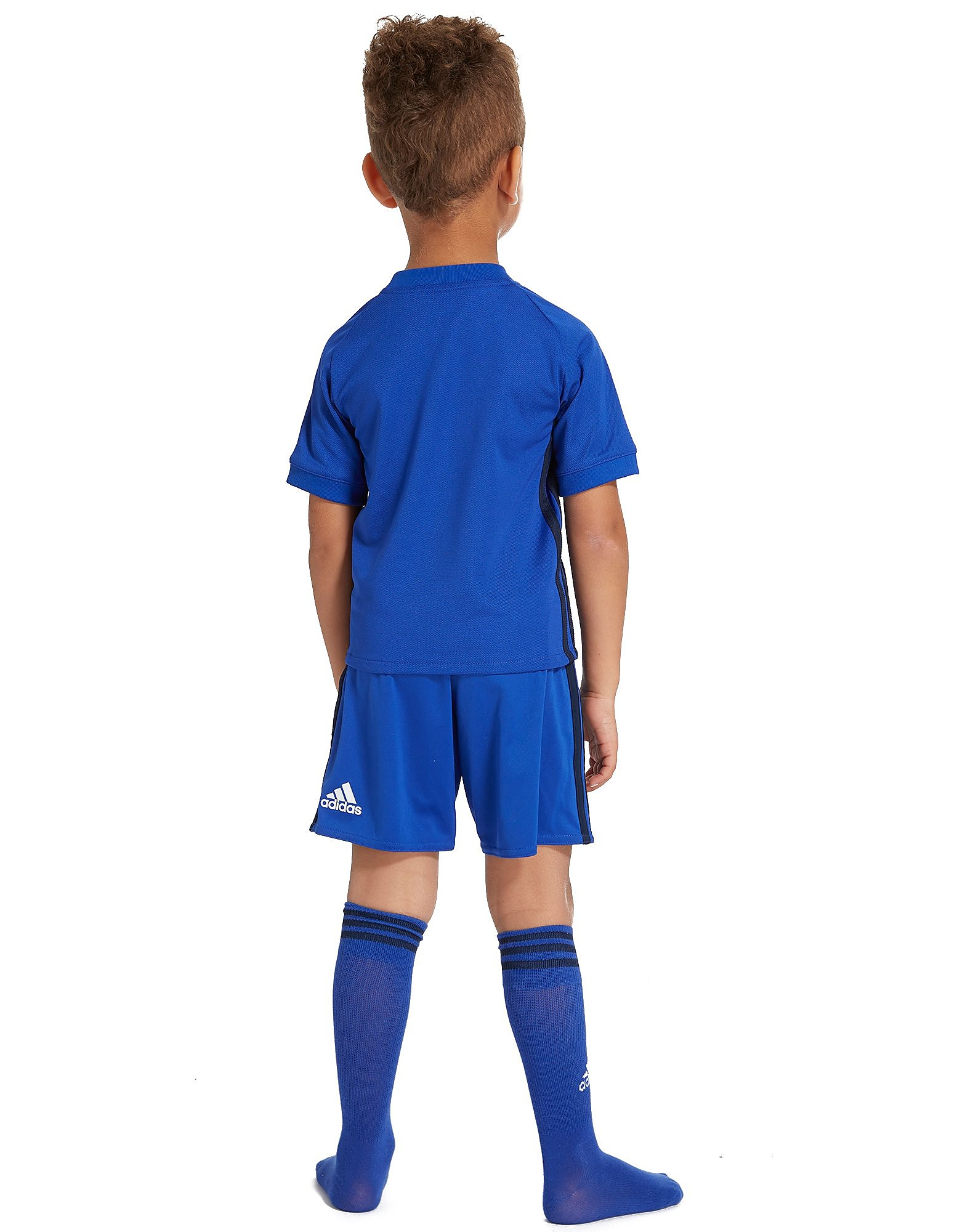adidas Cardiff City 2017/18 Home Kit Children
