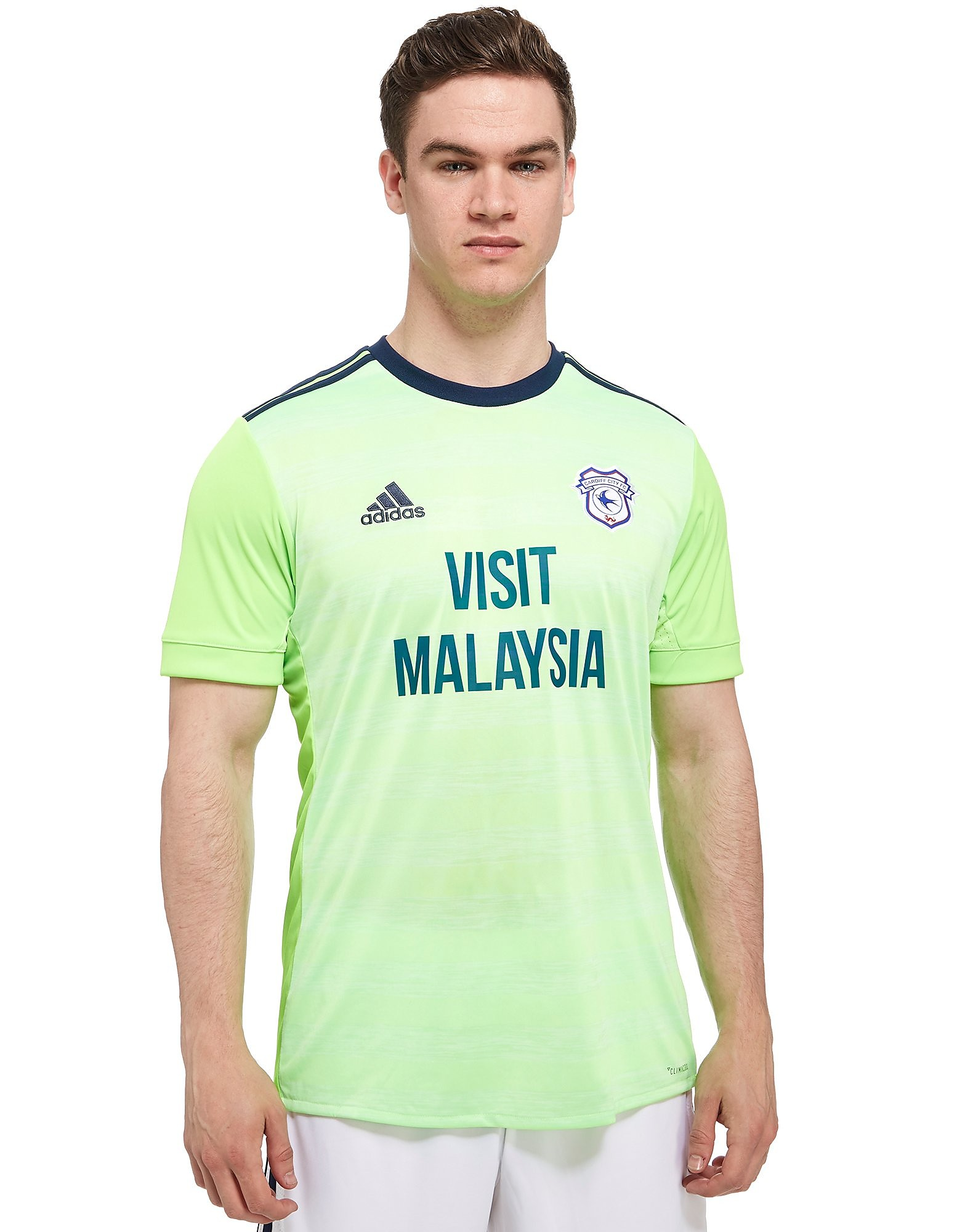 adidas Cardiff City FC 2017/18 Away Shirt