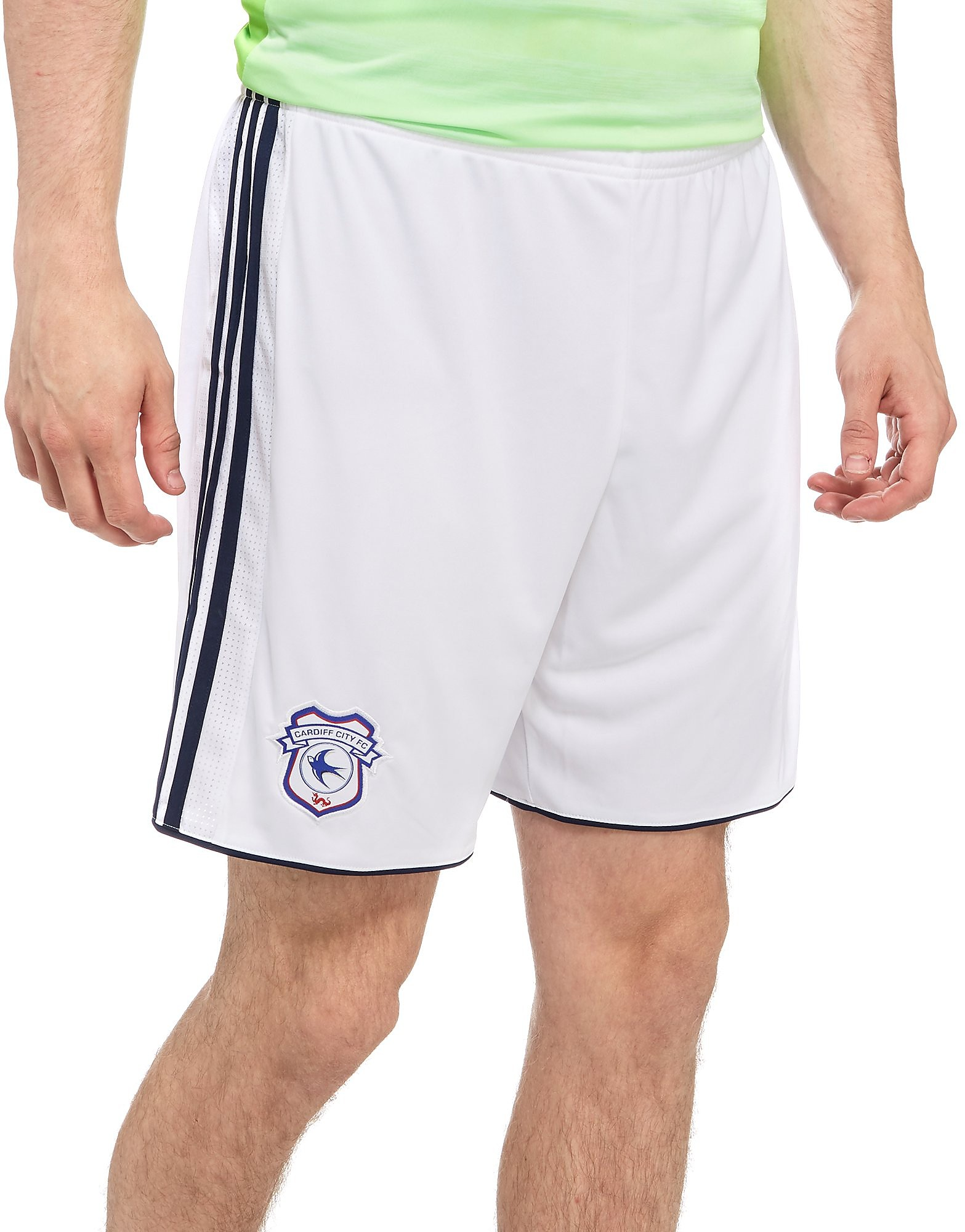 adidas Cardiff City 2017/18 Away Shorts
