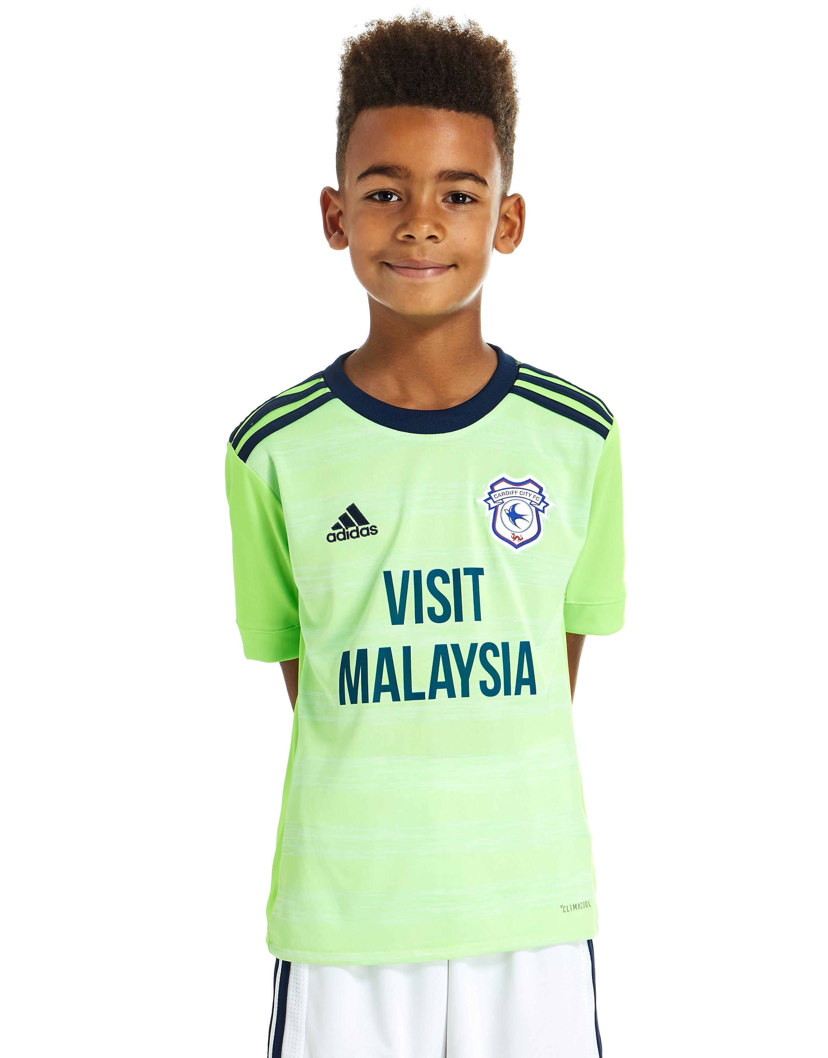 adidas Cardiff City FC 2017 Away Shirt Junior