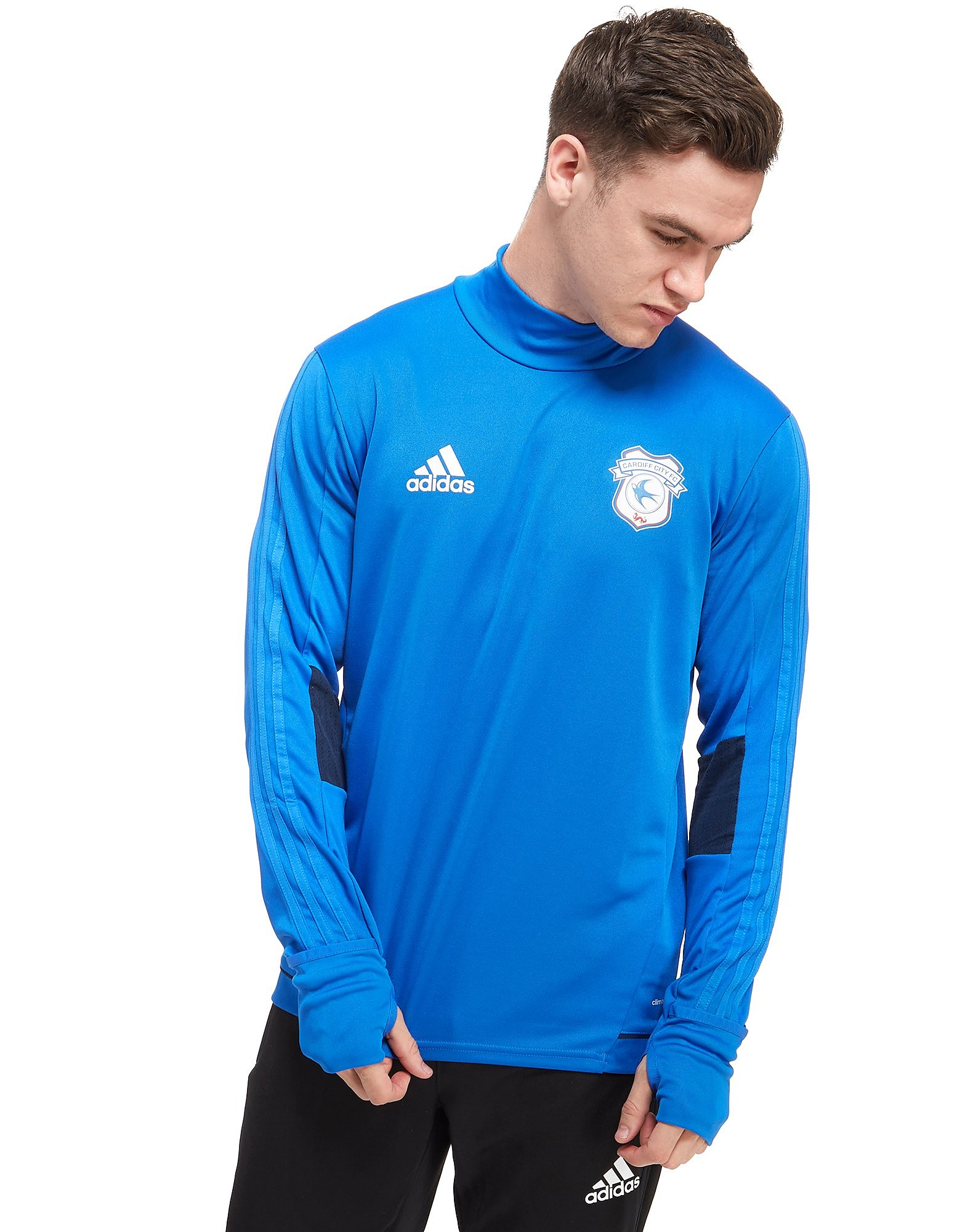 adidas Cardiff City FC 2017 Training Top
