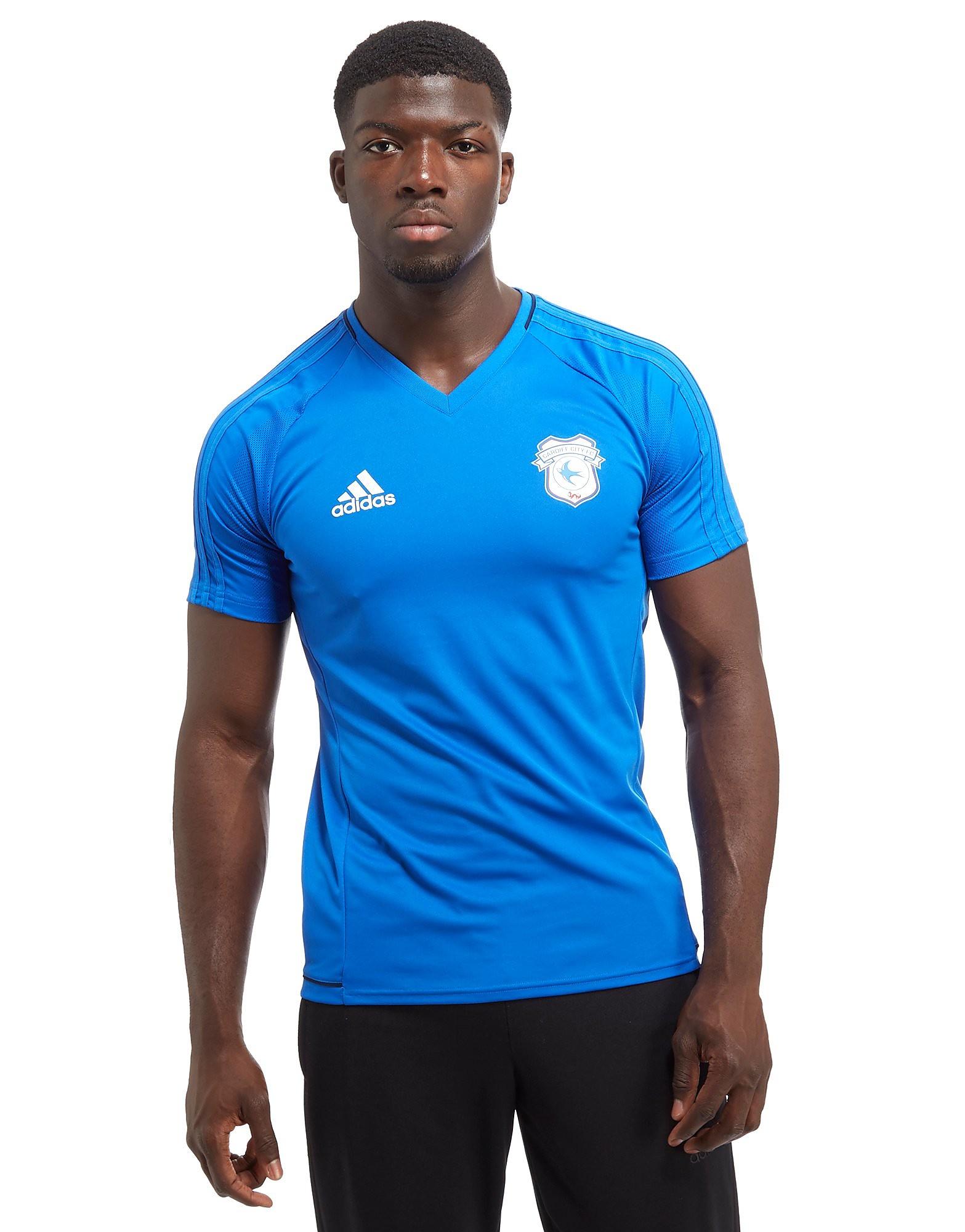 adidas Chemise d'entraînement adidas Cardiff City FC - bleu, bleu