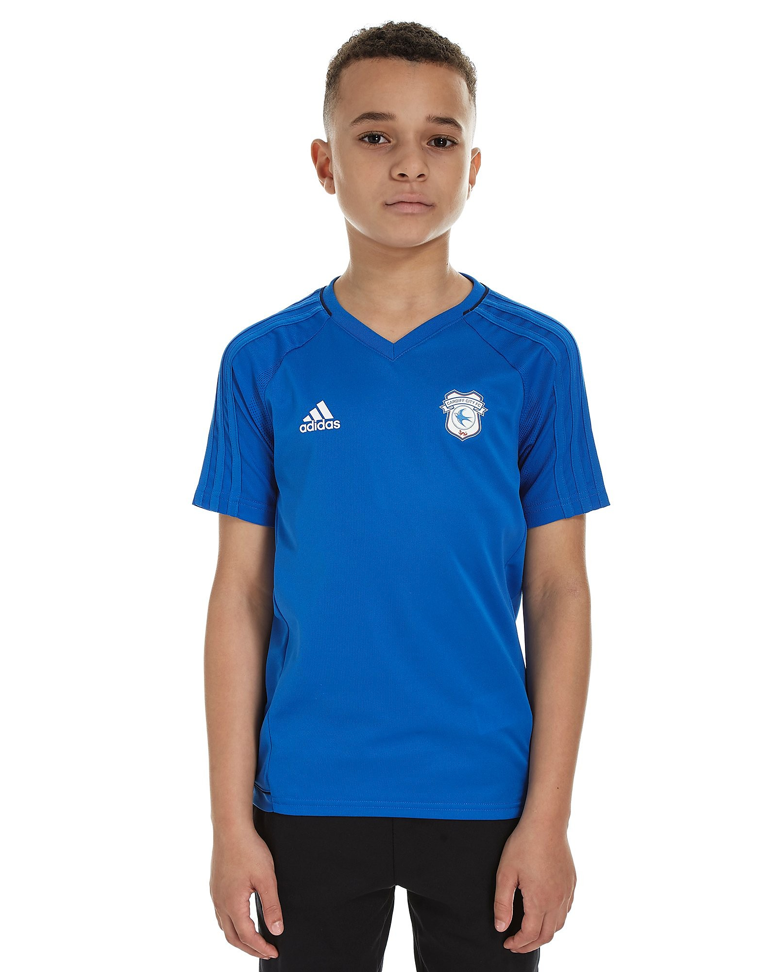 adidas Cardiff City 2017 Training Shirt Junior