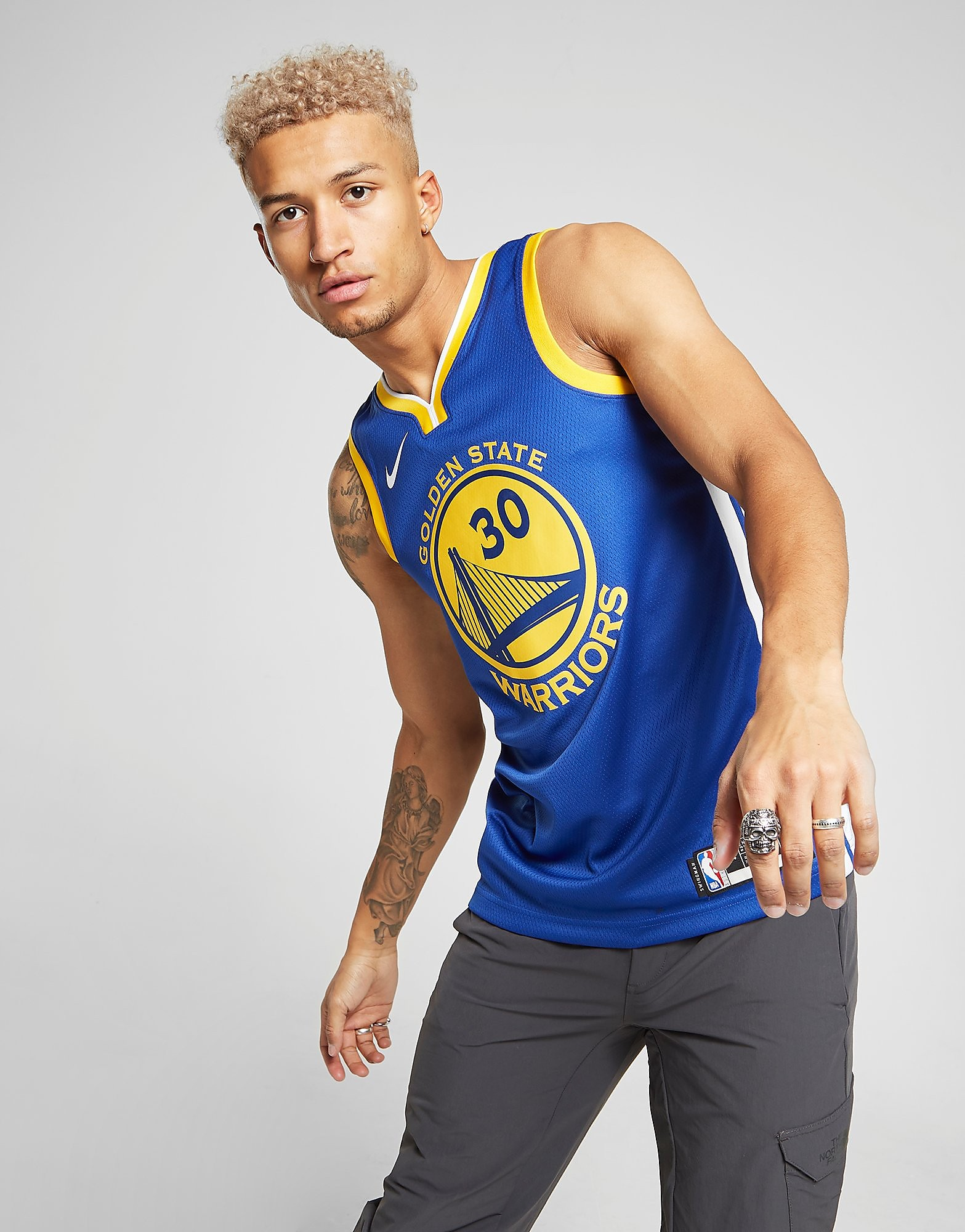 Nike NBA Golden State Warriors Curry Jersey