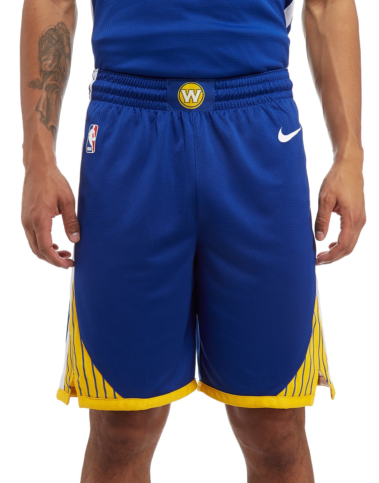 Nike Short NBA Golden State Warriors Swingman Homme