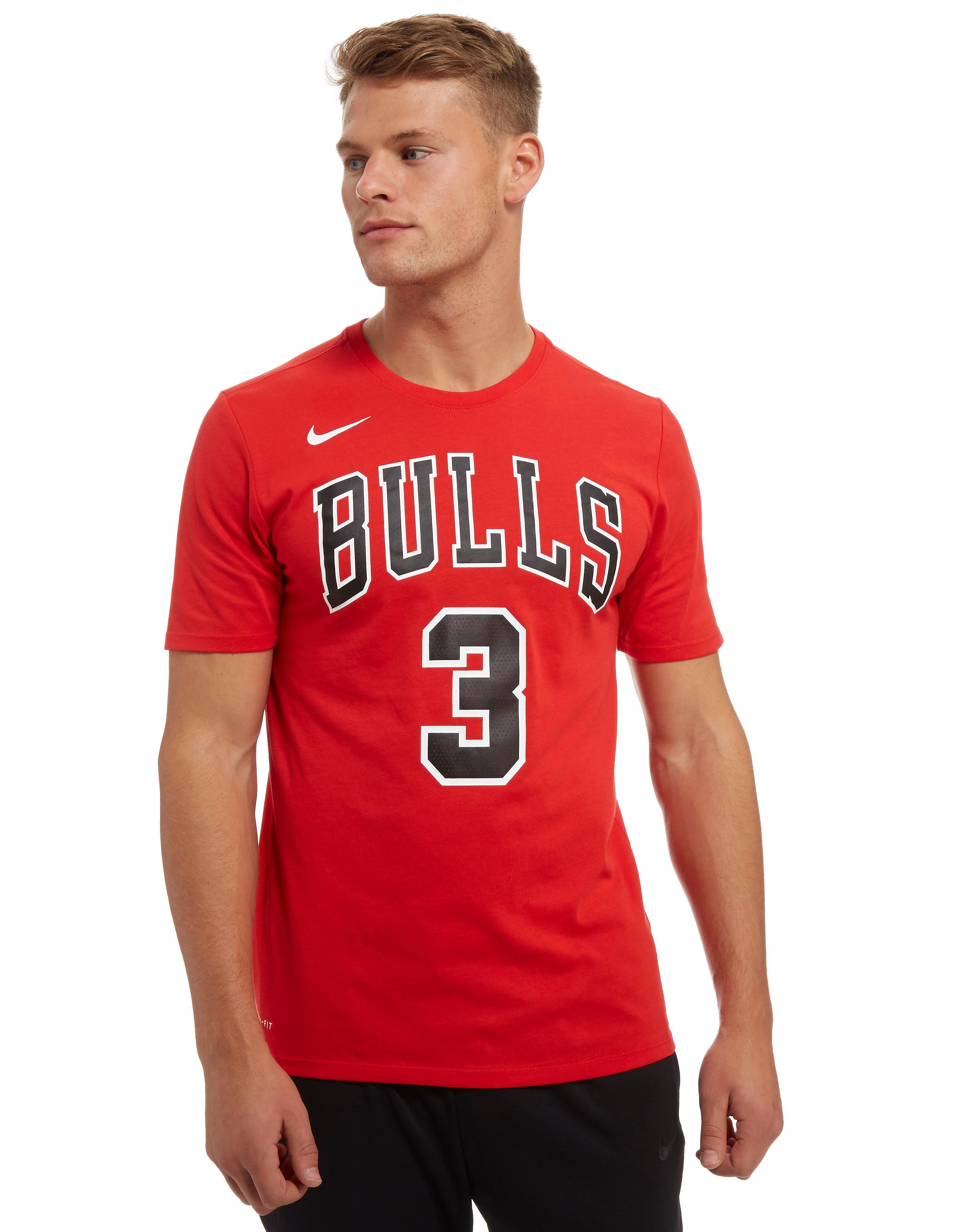 Nike T-Shirt NBA Chicago Bulls D.Wade #3