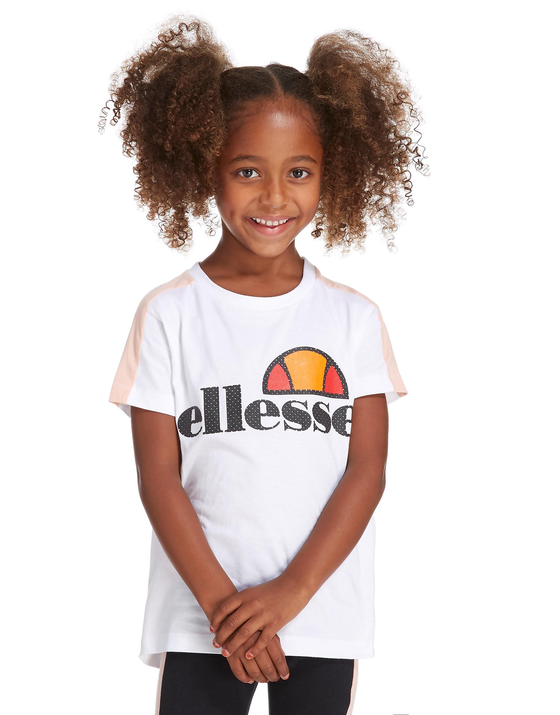 Ellesse Girls Panel T-Shirt Children