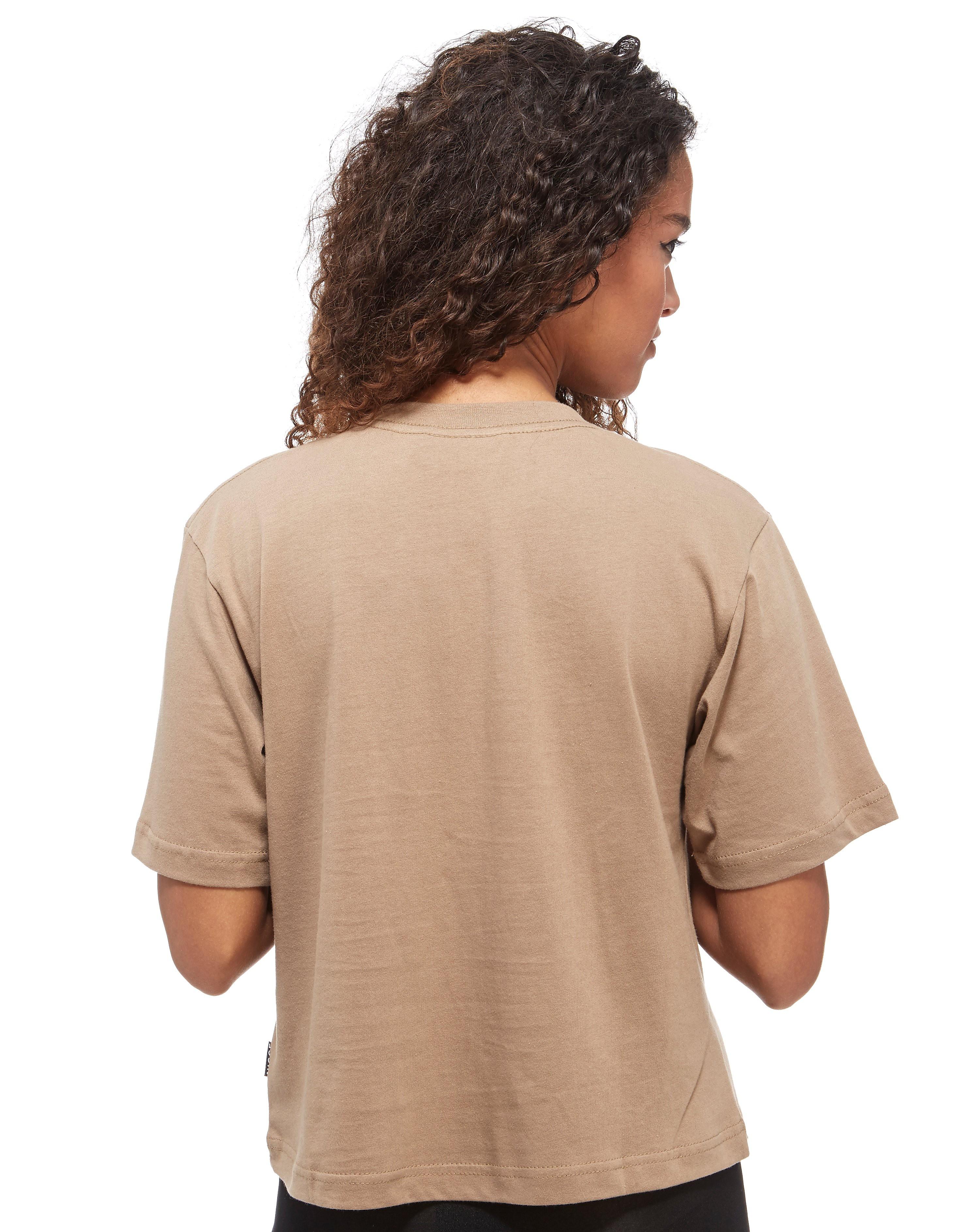 Nicce Slice Logo Cropped T-Shirt