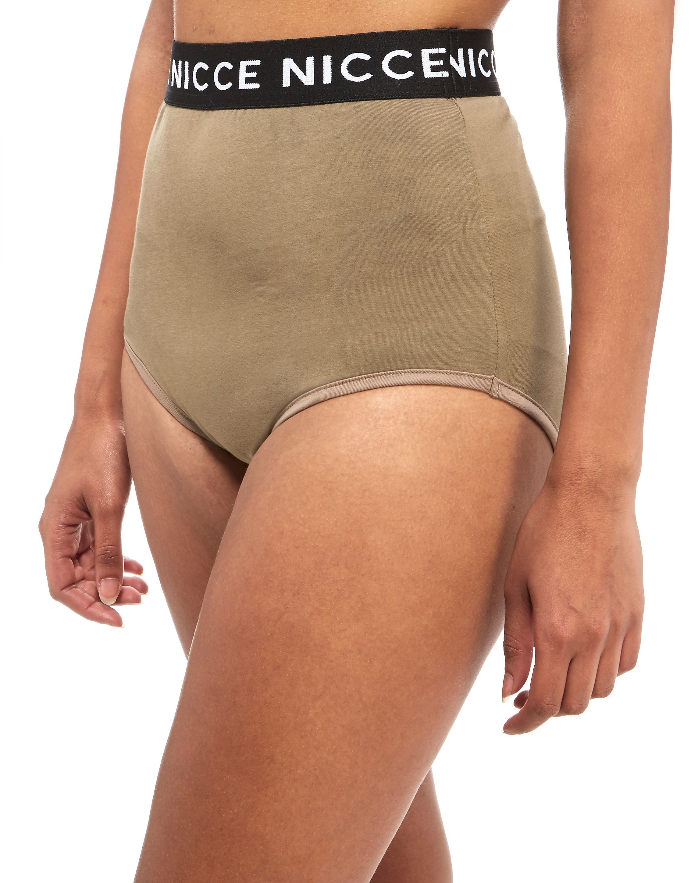 Nicce Contrast Tape Briefs