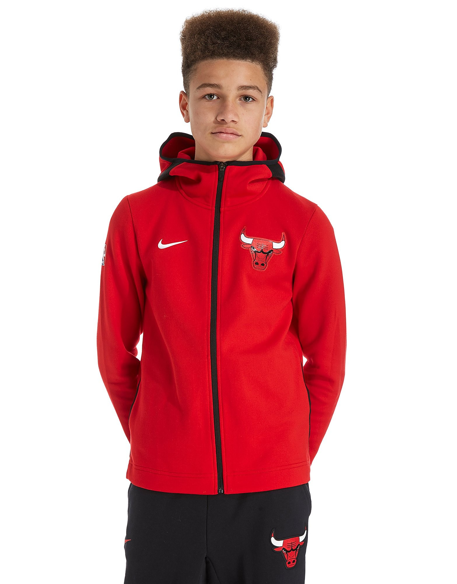 Nike Chicago Bulls Showtime Full Zip Hoodie Junior