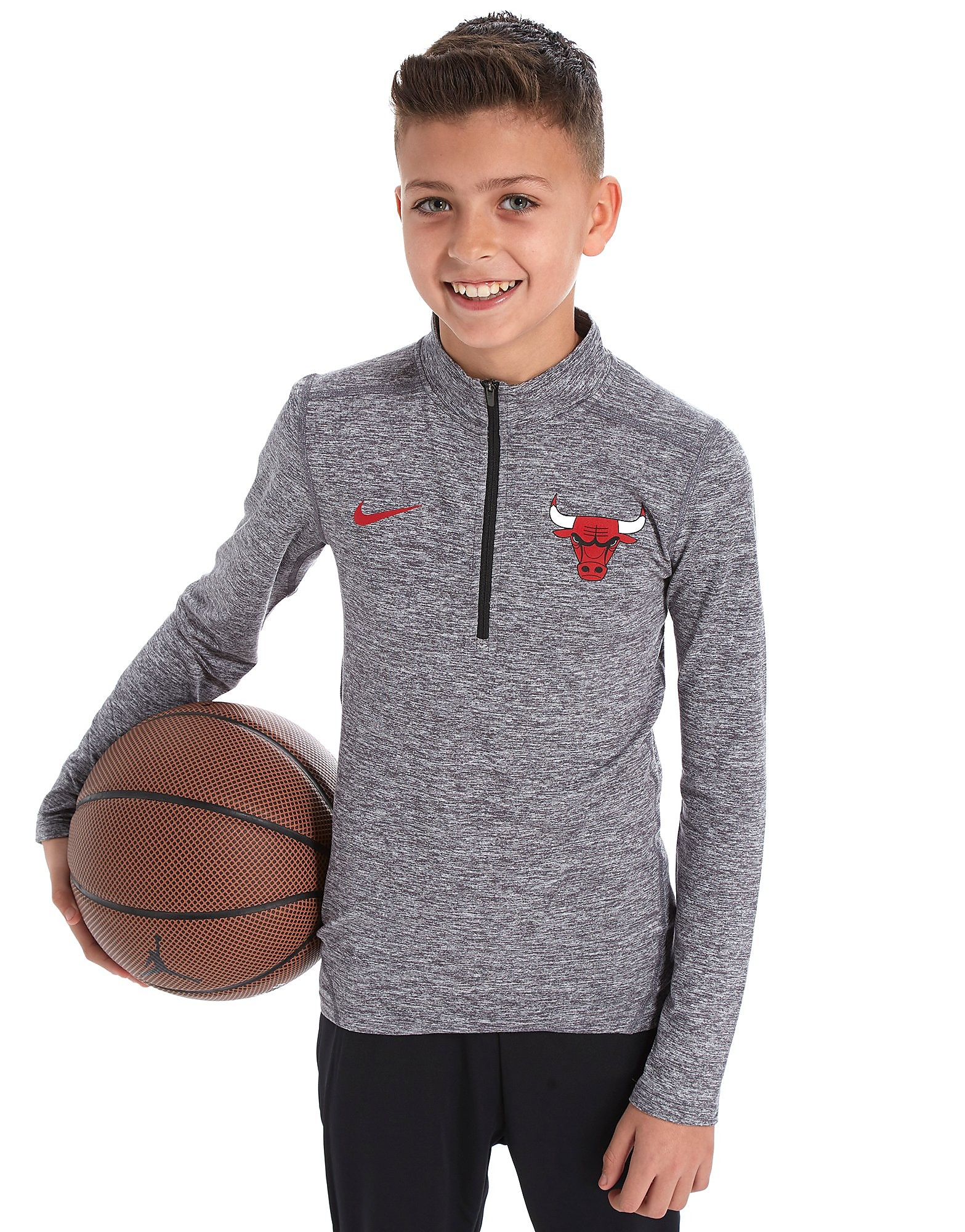 Nike Chicago Bulls 1/2 Zip Felpa Junior