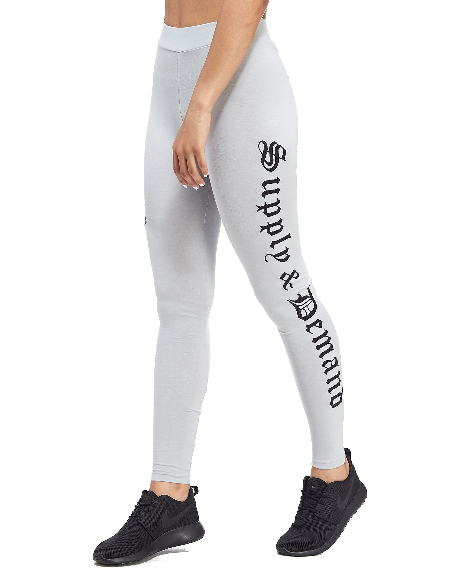Supply & Demand Flower Emblem Leggings