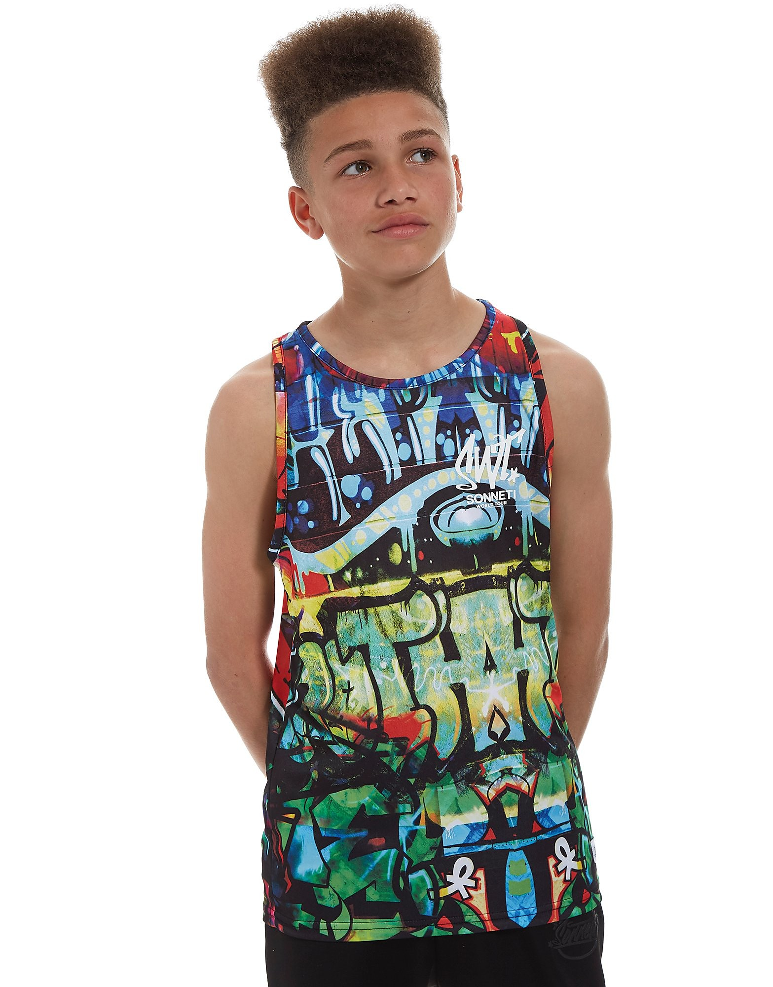 Sonneti Graffiti Tanktop Junior