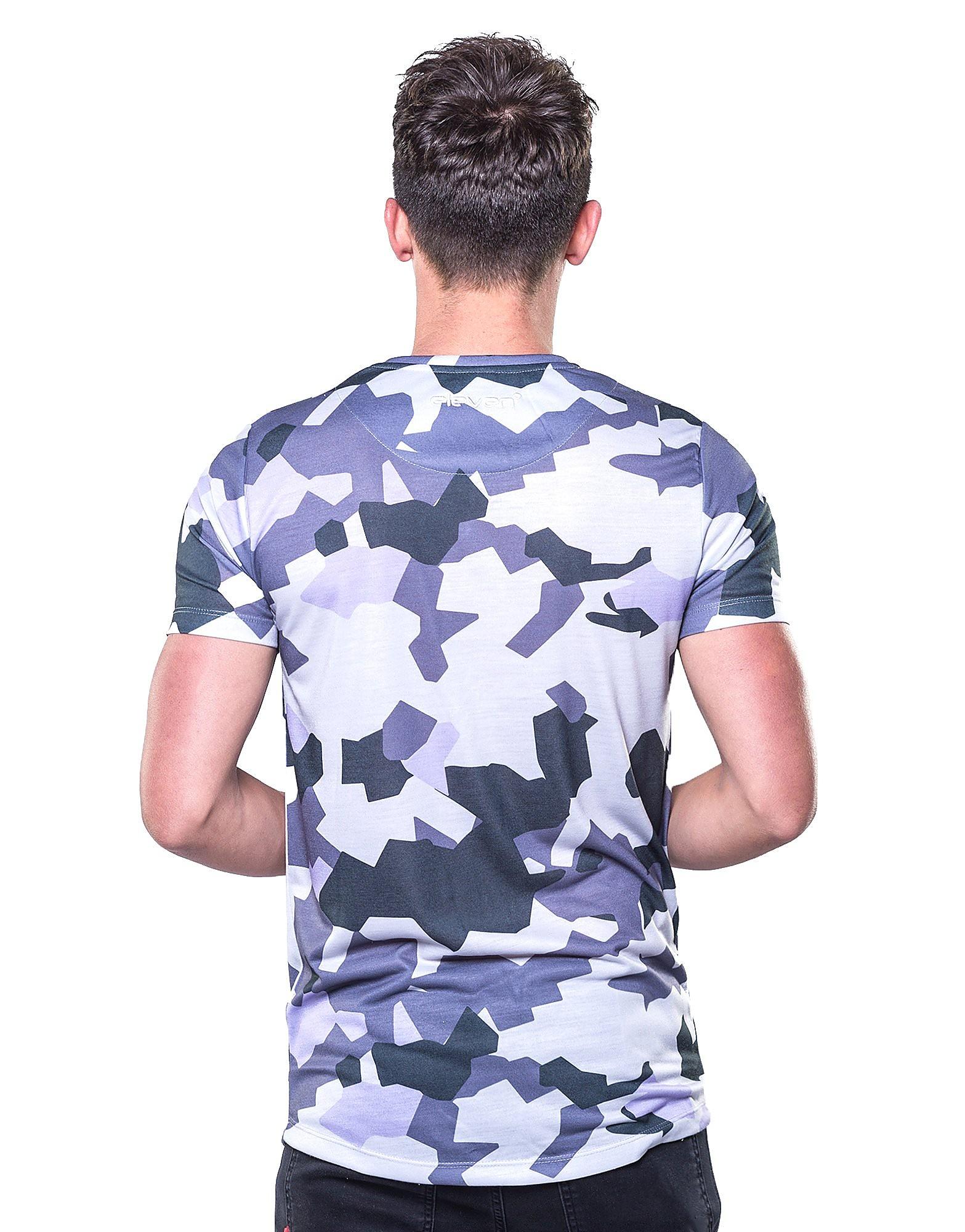 11 Degrees Geo Camo T-Shirt